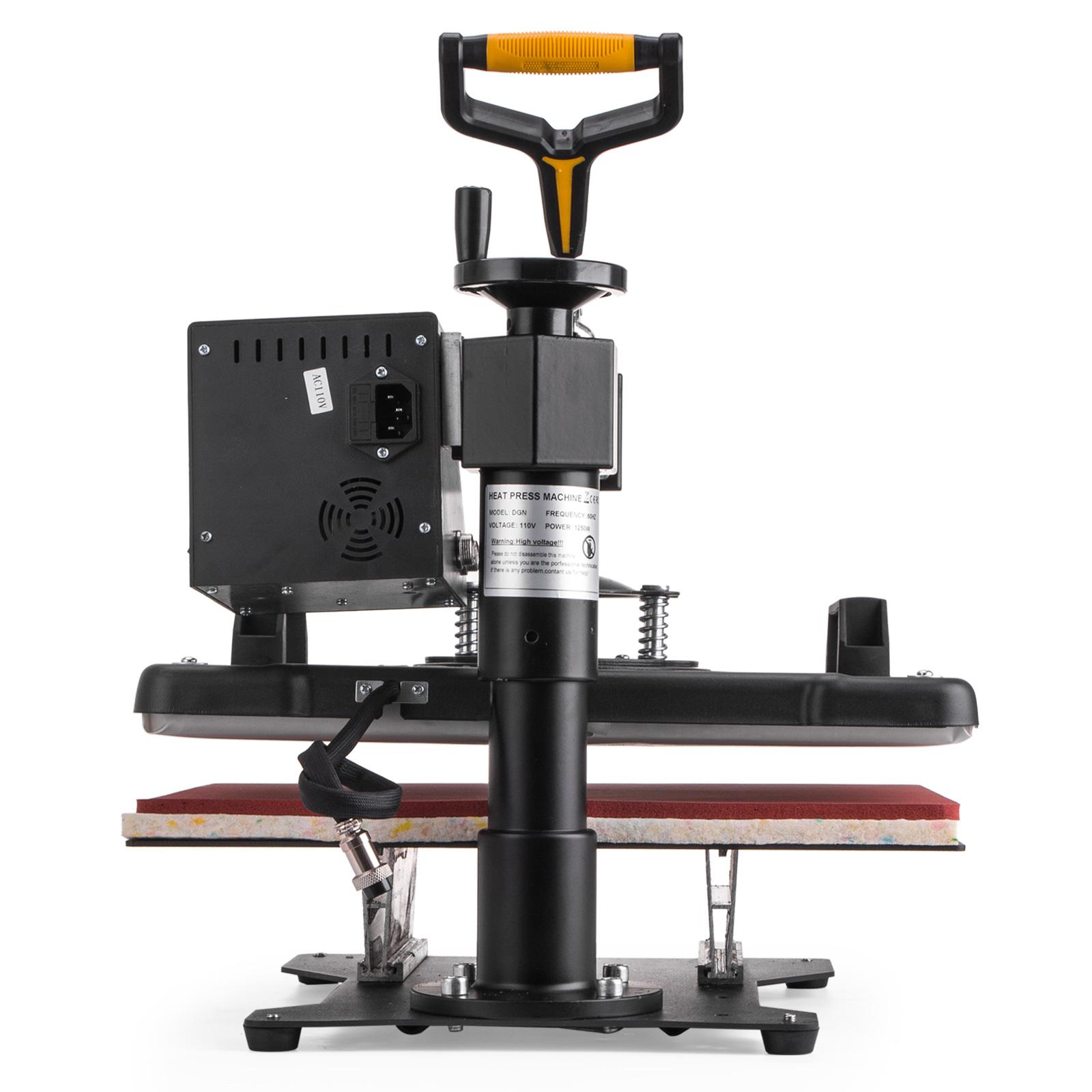 6in1 presse textile presse chaud la chaleur 15 x12 haute pression machine ebay. Black Bedroom Furniture Sets. Home Design Ideas