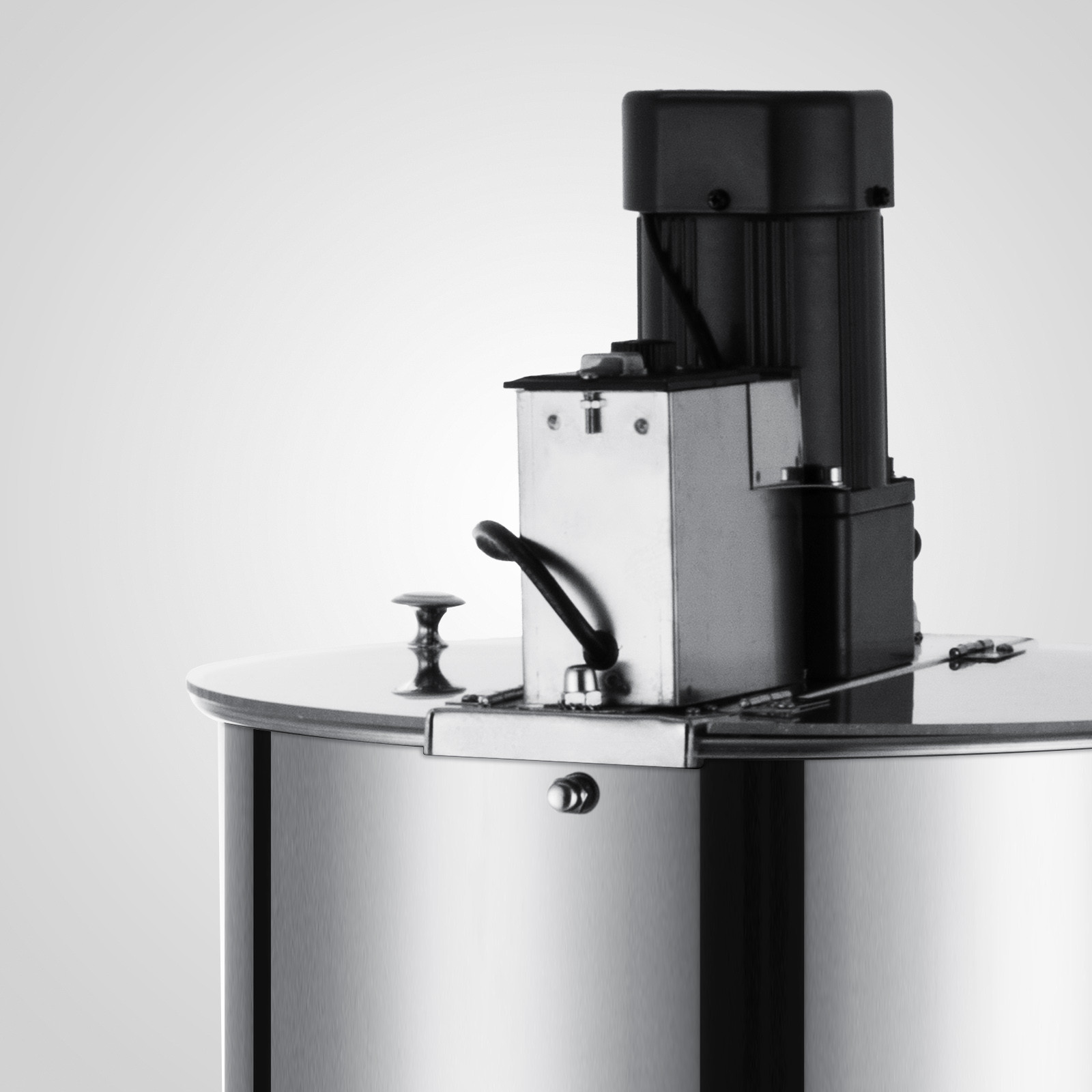 Extracteur-de-Miel-Electrique-manuelle-2-3-4-Cadres-En-Acier-Inox-Centrifugeuse miniature 36
