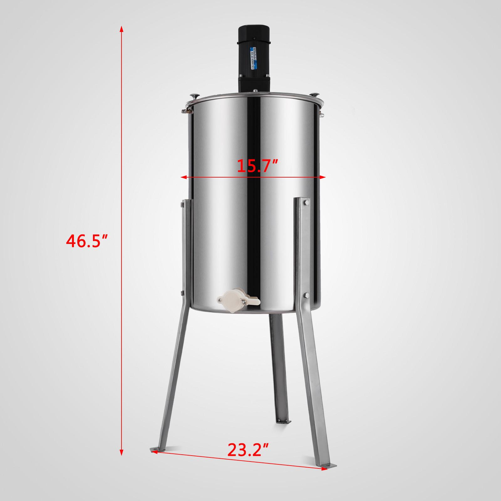 Extracteur-de-Miel-Electrique-manuelle-2-3-4-Cadres-En-Acier-Inox-Centrifugeuse miniature 26