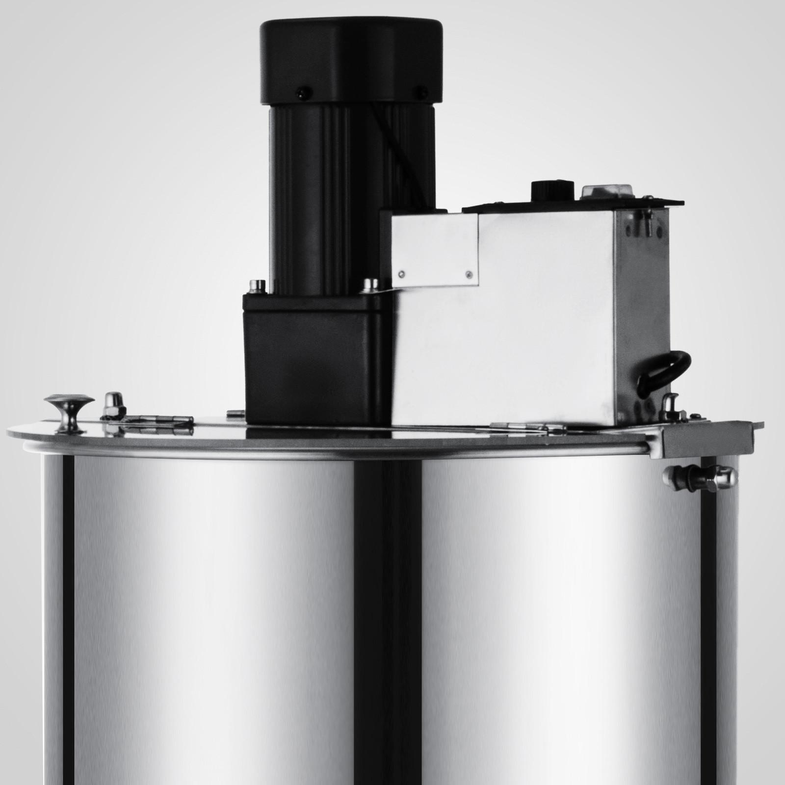 Extracteur-de-Miel-Electrique-manuelle-2-3-4-Cadres-En-Acier-Inox-Centrifugeuse miniature 32
