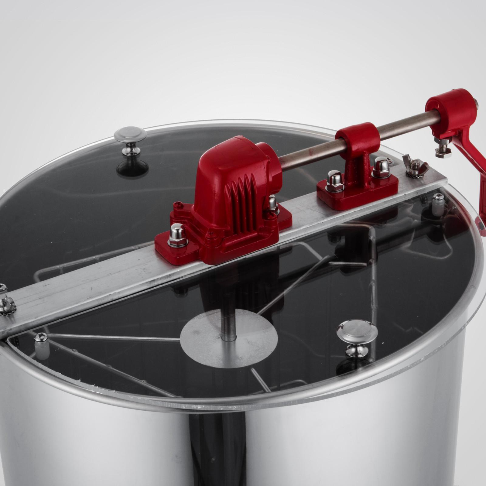 Extracteur-de-Miel-Electrique-manuelle-2-3-4-Cadres-En-Acier-Inox-Centrifugeuse miniature 55