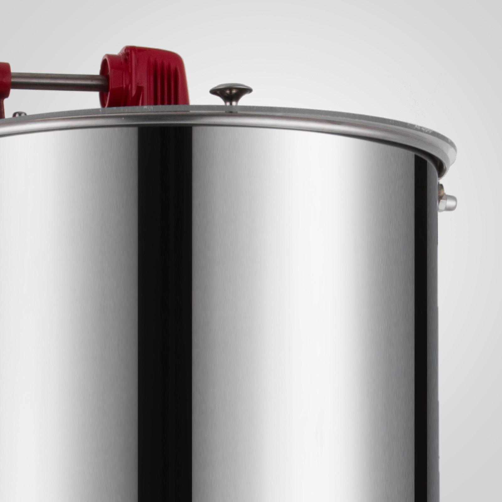 Extracteur-de-Miel-Electrique-manuelle-2-3-4-Cadres-En-Acier-Inox-Centrifugeuse miniature 57