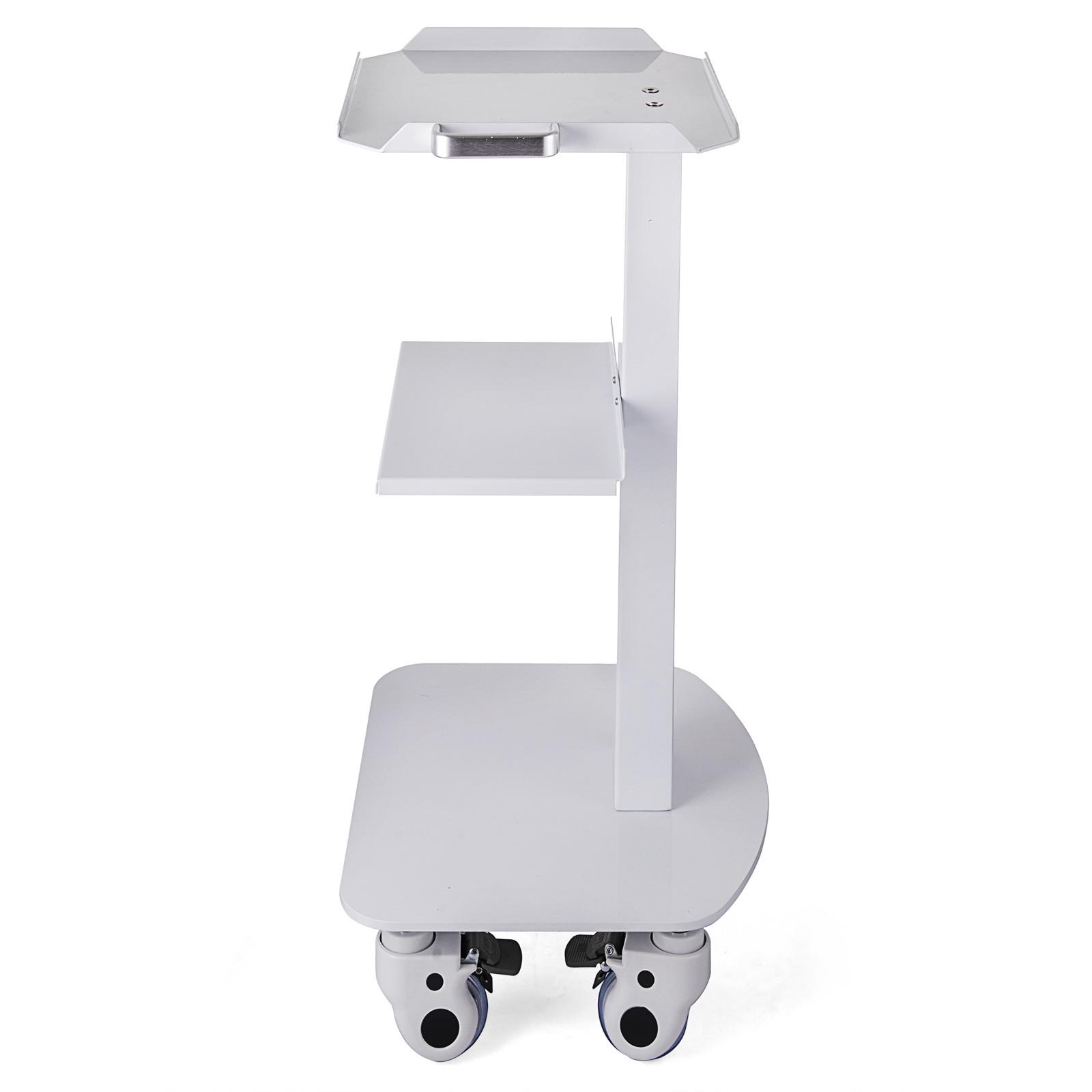 thumbnail 76 - Rolling Storage Cart Medical Salon Trolley Pedestal Rolling Cart Stainless Steel