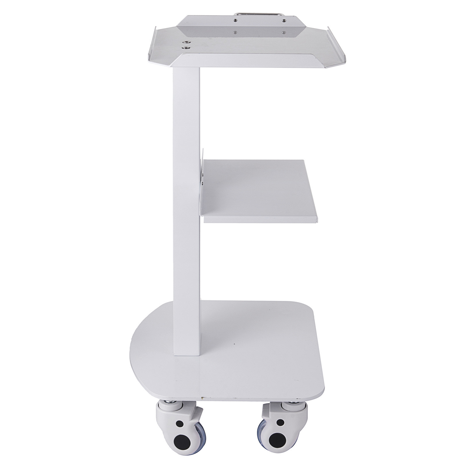 thumbnail 79 - Rolling Storage Cart Medical Salon Trolley Pedestal Rolling Cart Stainless Steel