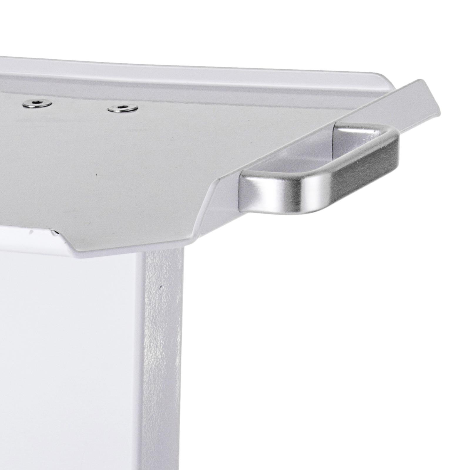 thumbnail 80 - Rolling Storage Cart Medical Salon Trolley Pedestal Rolling Cart Stainless Steel