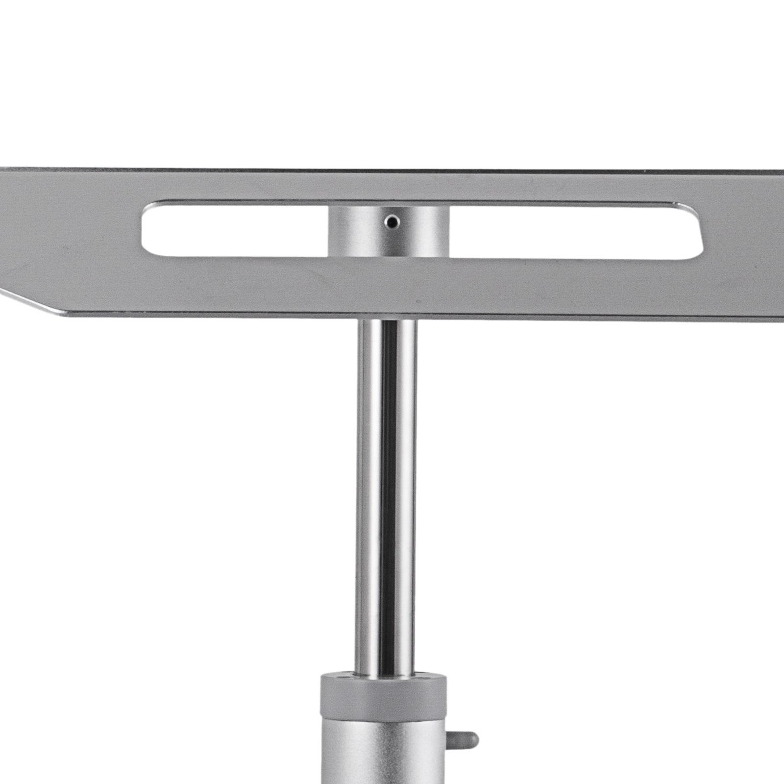 thumbnail 96 - Rolling Storage Cart Medical Salon Trolley Pedestal Rolling Cart Stainless Steel
