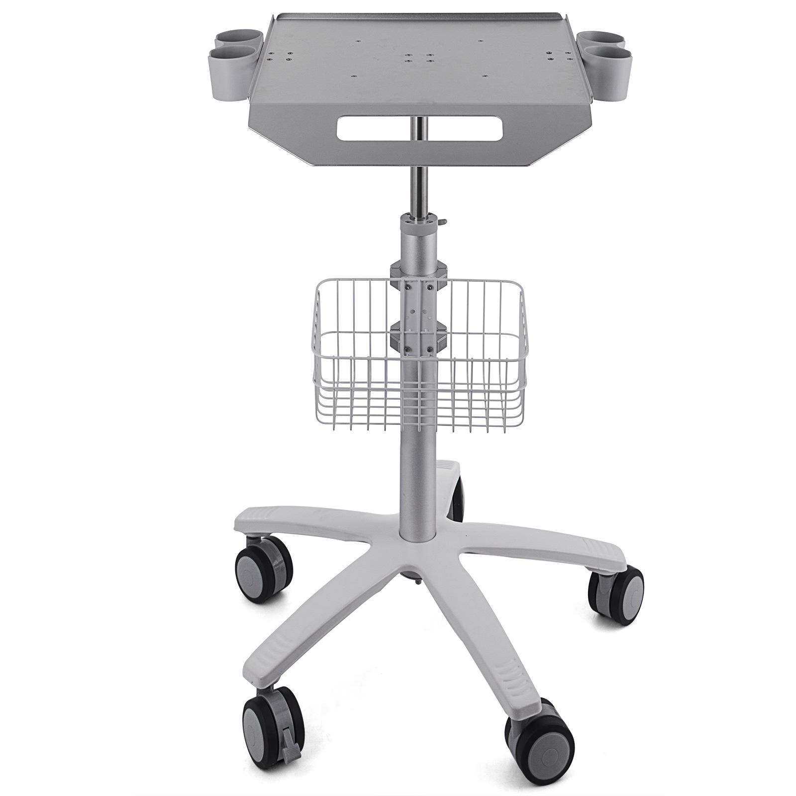 thumbnail 87 - Rolling Storage Cart Medical Salon Trolley Pedestal Rolling Cart Stainless Steel