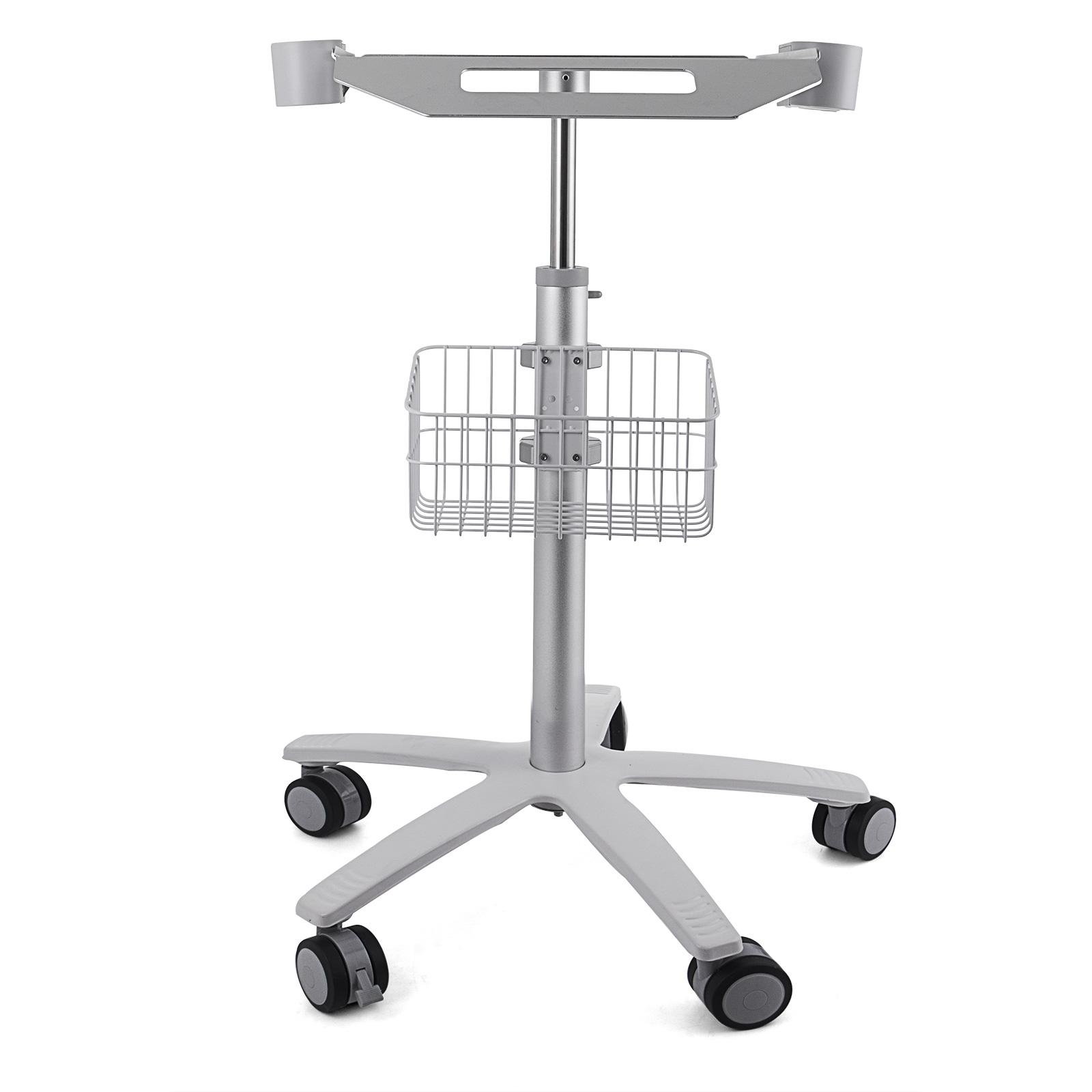 thumbnail 90 - Rolling Storage Cart Medical Salon Trolley Pedestal Rolling Cart Stainless Steel