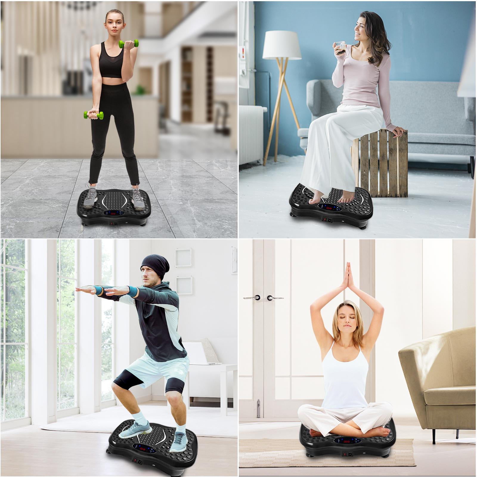 Vibration Platform Whole Body Massager Machine Exercise