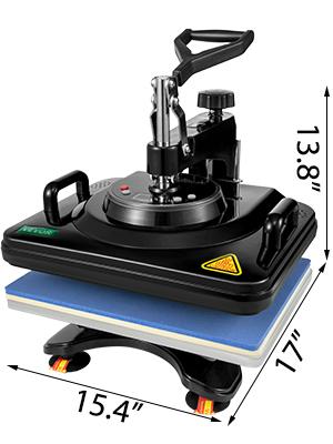 Affichage numérique presse à chaud transfert sublimation Machine pour Cup Hat Mug 8//4in1