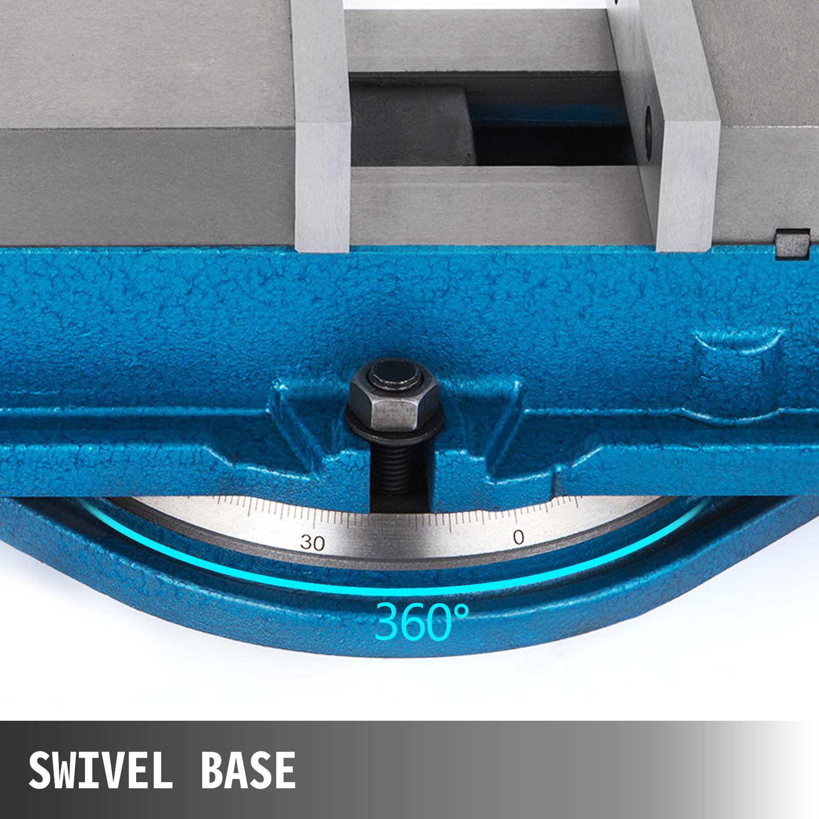 """3/"""" 80mm Étau de serrage de banc Pivotant Base à 360º atelier Etau Pince"""