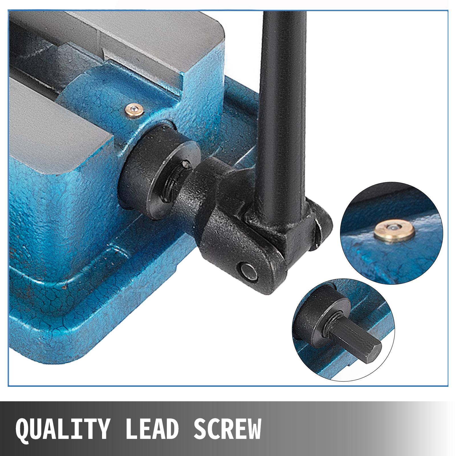 "Milling Machine Lockdown Vise 4/"" Swivel Base Precise Scale Clamping Vise"