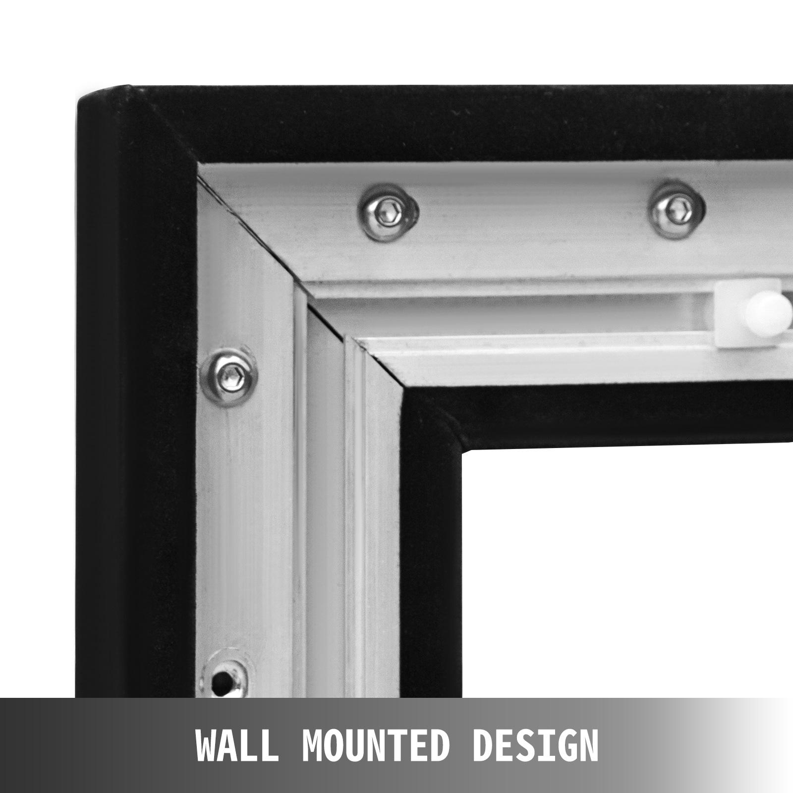 135 //16:9 Full HD 3D 4K Beamer Leinwand Rahmenleinwand Heimkino Zoll 310x179 cm