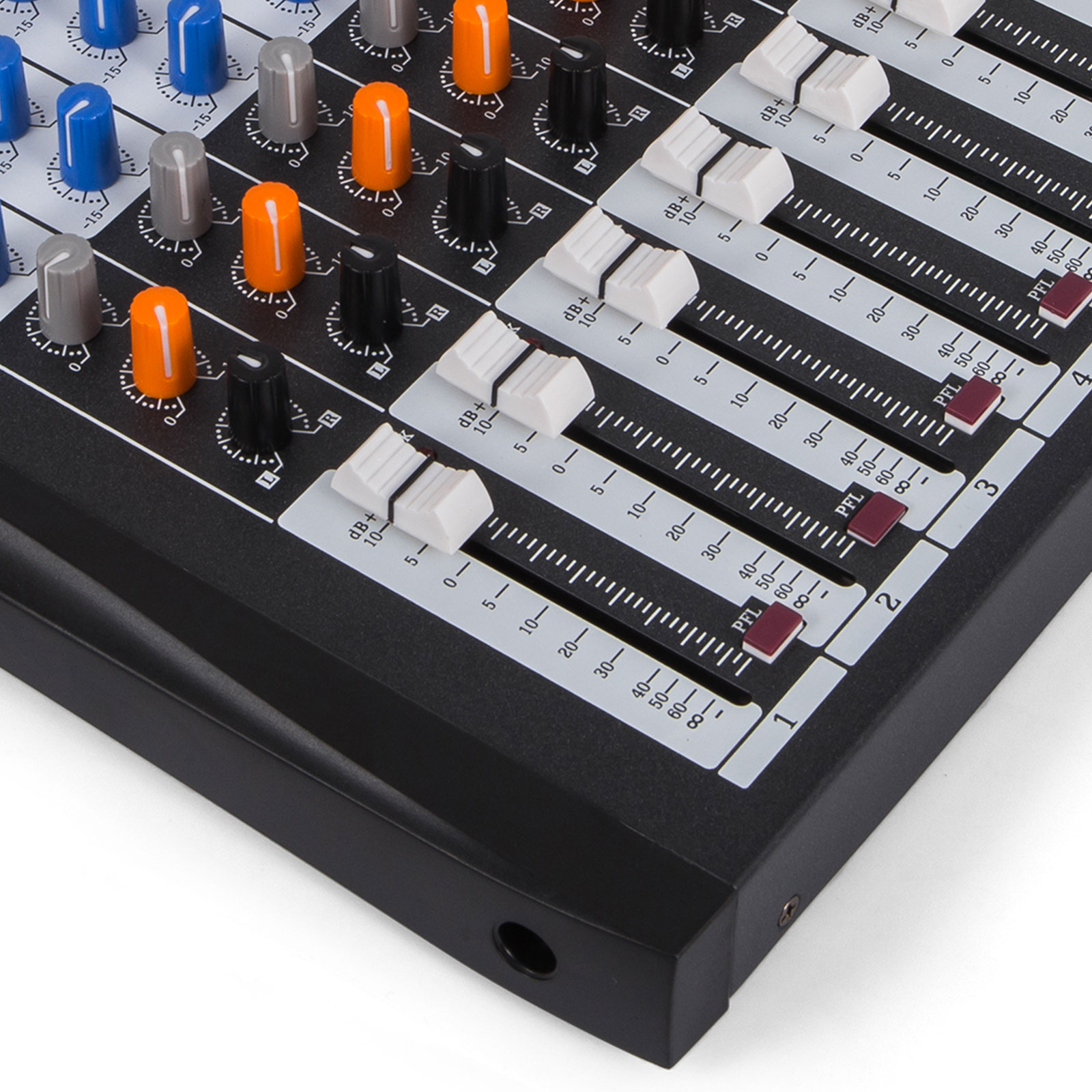 12 channel sound card digital audio mixer mixing console for recording live 882511196119 ebay. Black Bedroom Furniture Sets. Home Design Ideas