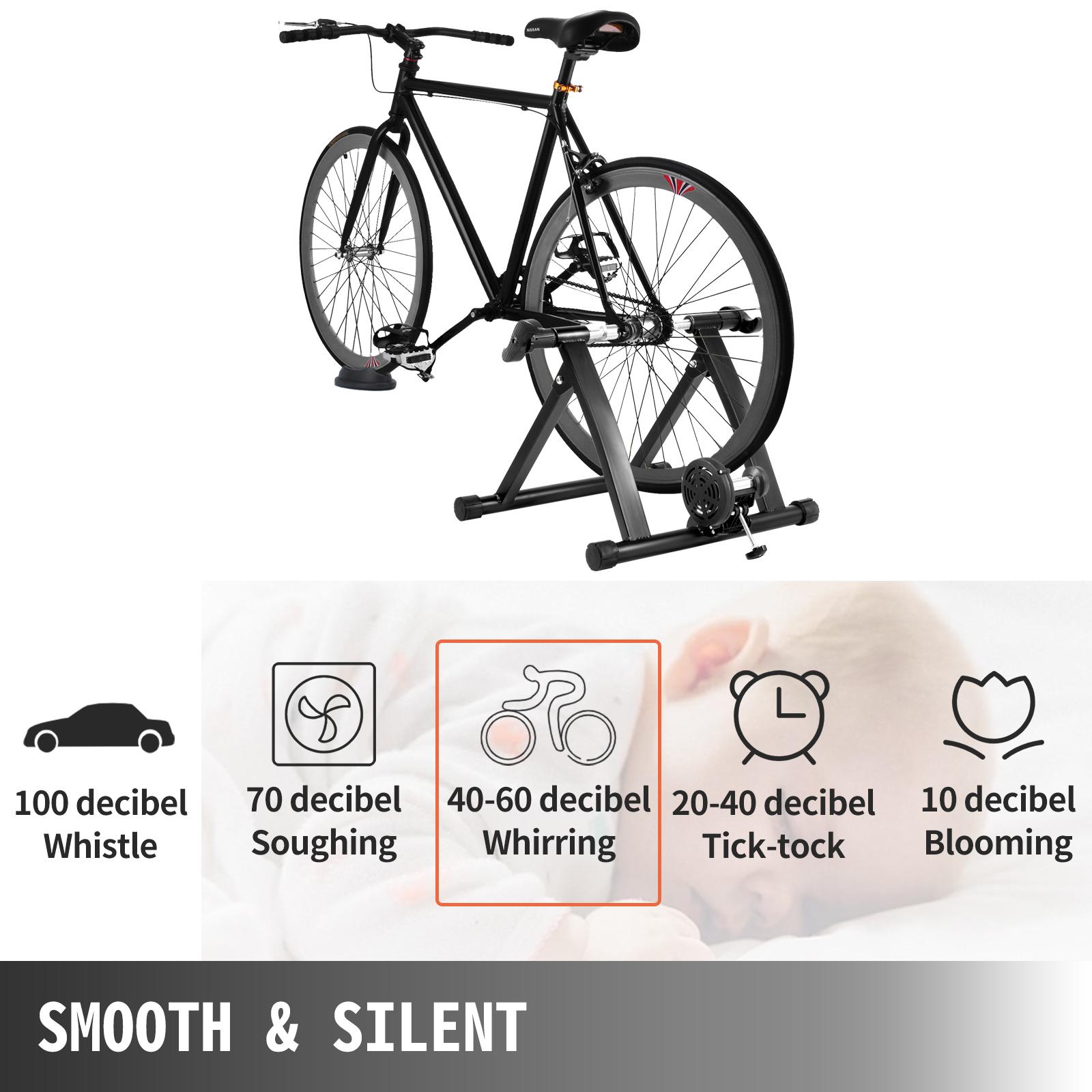 Indoor Bike Trainer Stand Fluid Resistance Stationary