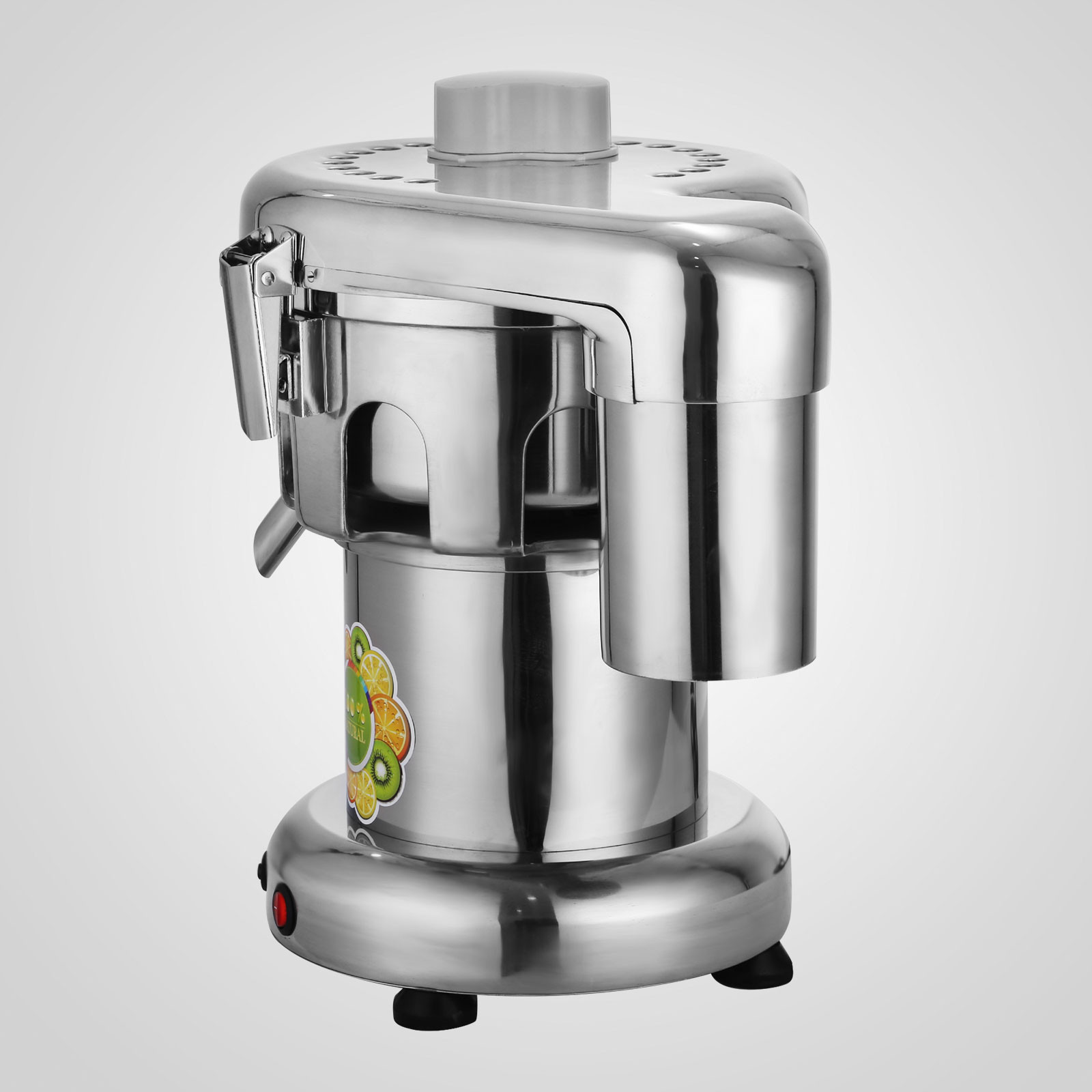 2800 Rpm Commercial Juice Extractor Stainless Steel Juicer