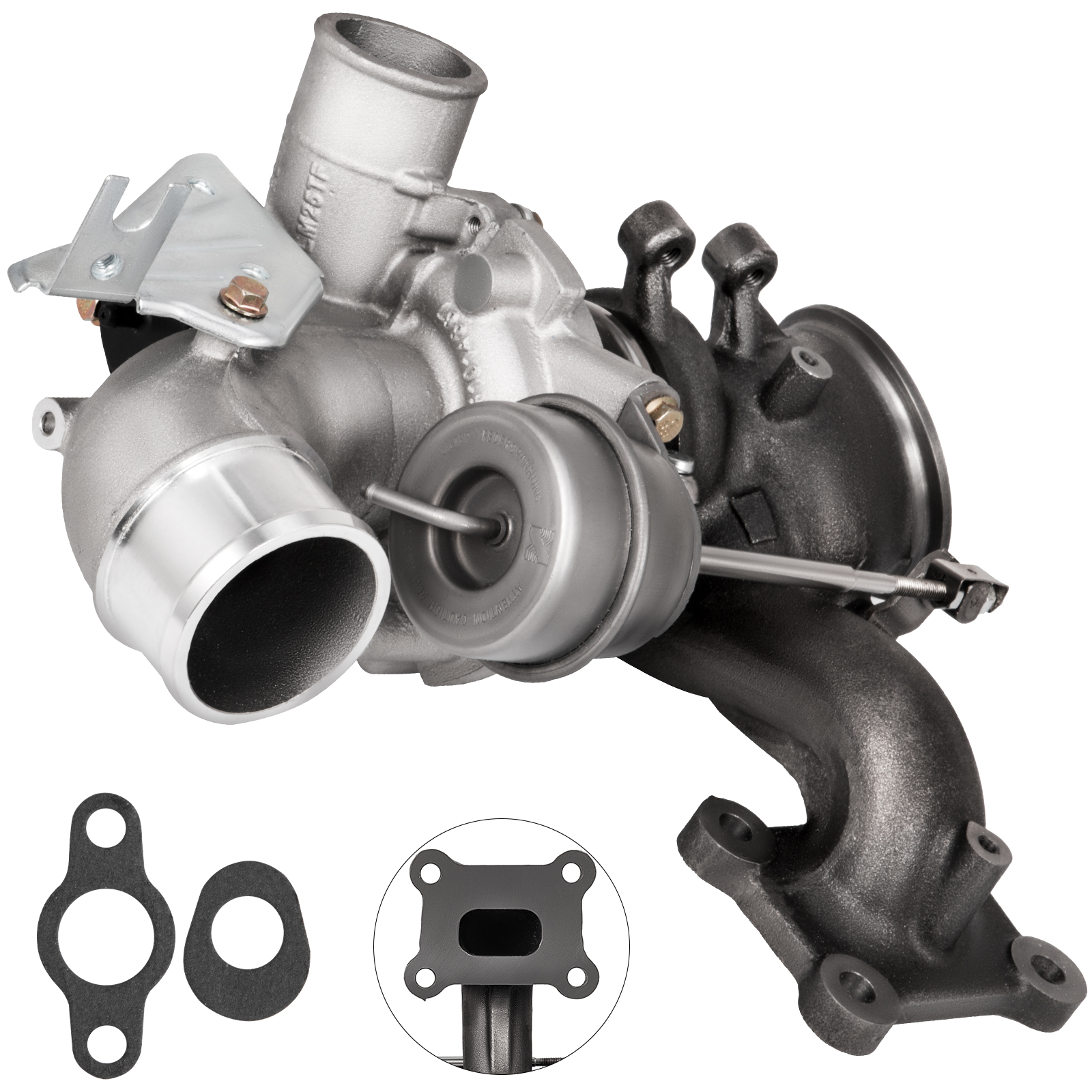 2.0 L Ecoboost >> Turbo Turbocharger For 09 14 Ford Explorer Edge Focus 2 0l Ecoboost