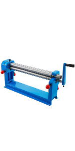 "SR-305J Manual Slip Roller 12/"" 305mm Bending Round Steel Plate Rolling Machine"