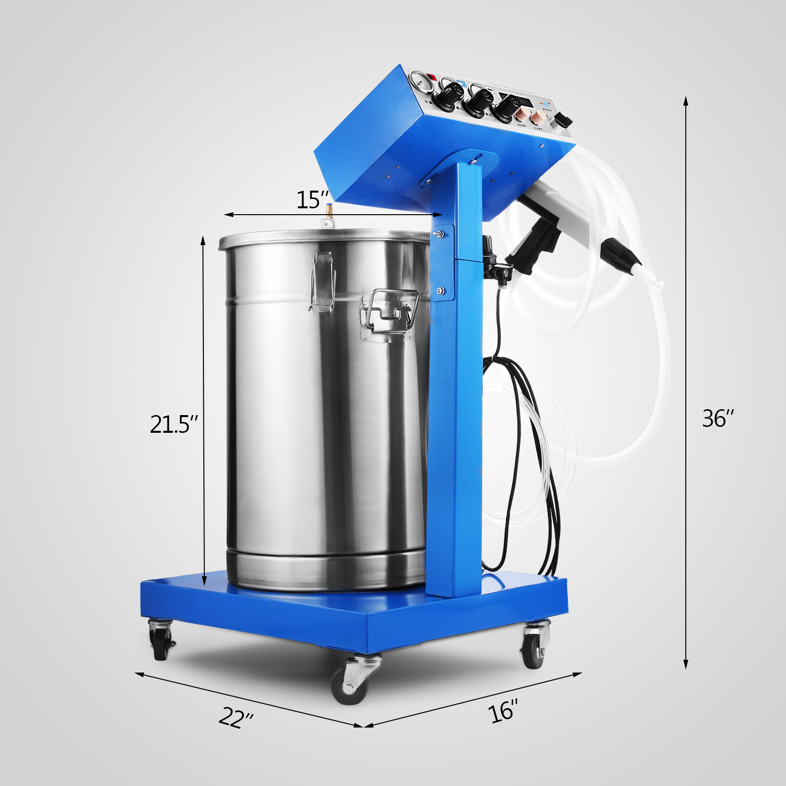 Wx 958 Powder Coating System Machine Professional
