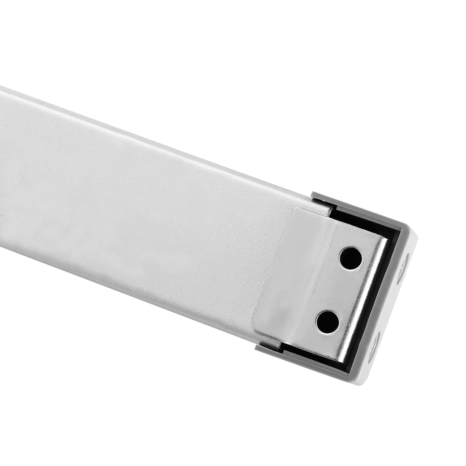 Door Panic Bar Parts: Door Push Bar With Handle Panic Exit Device Silver