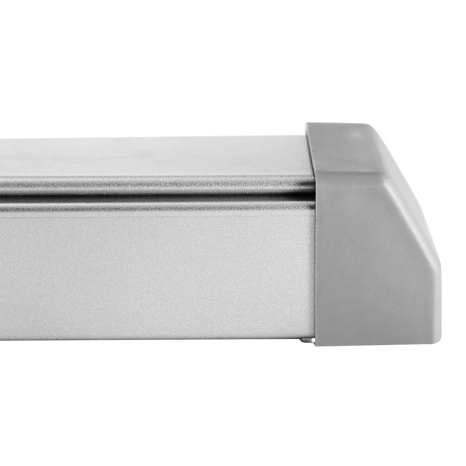 Door Push Bar With Handle Panic Exit Device Silver