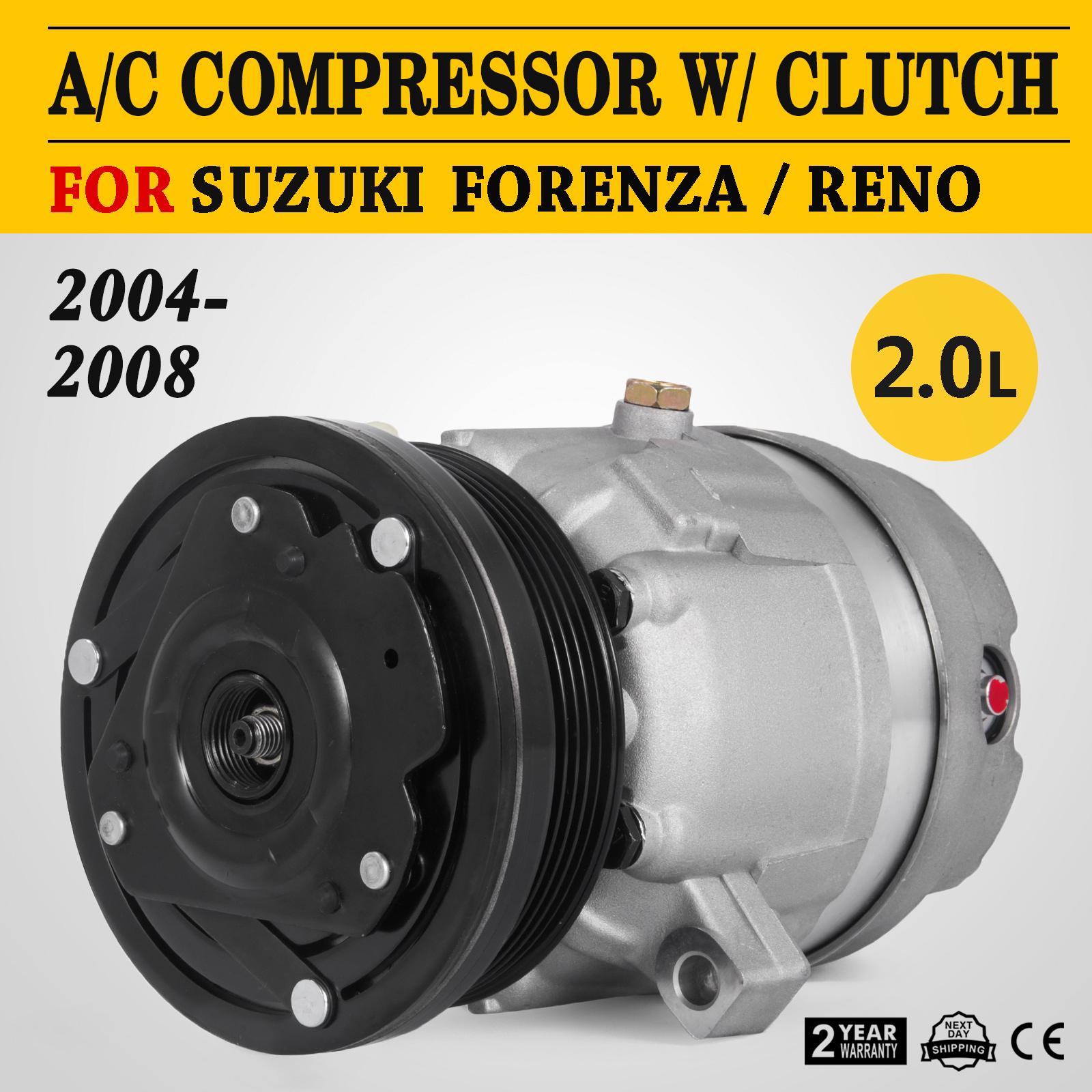 REMAN 1YW AC COMPRESSOR 97272 FOR 2004-2008 SUZUKI FORENZA 2005-2008 RENO