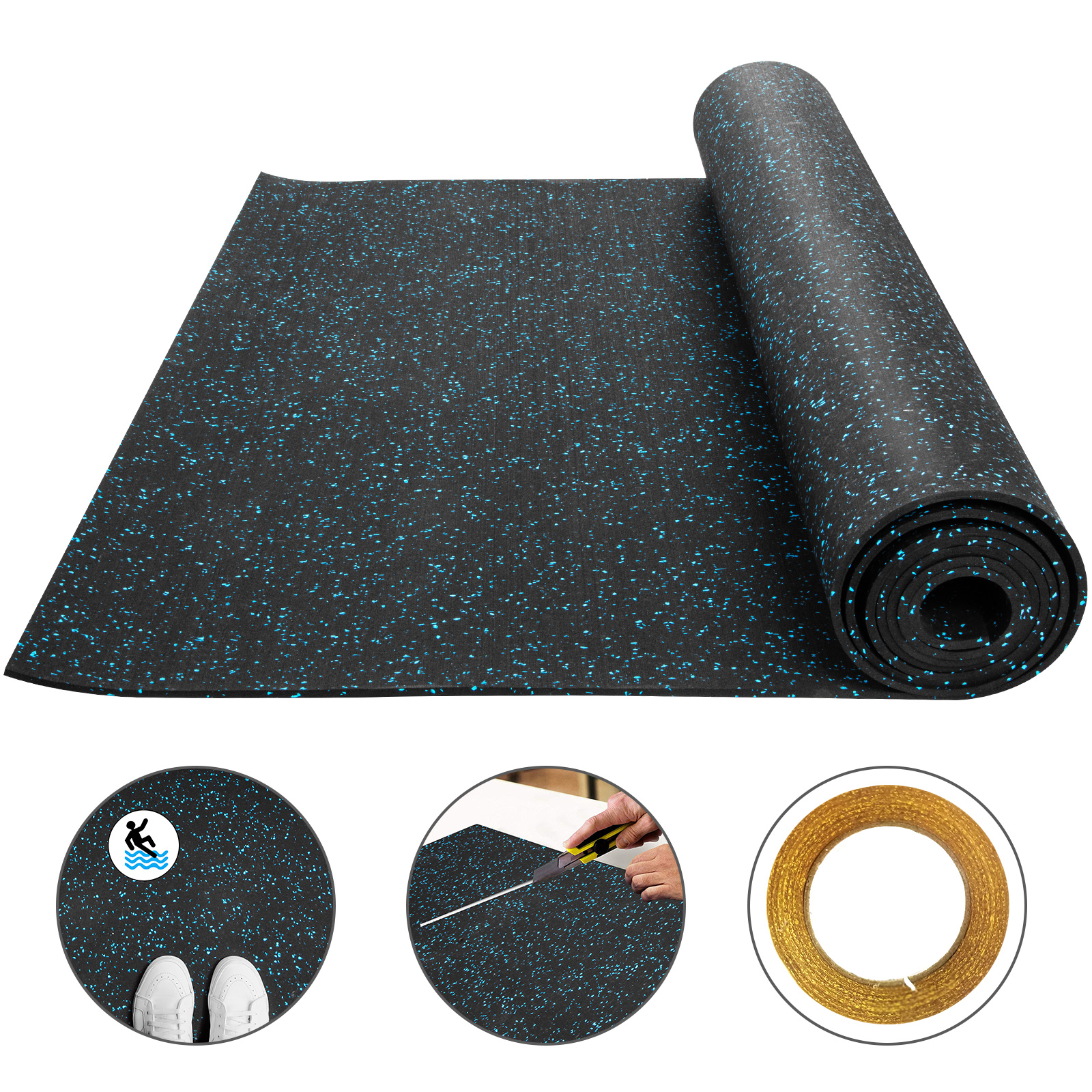 Rubber Mats Flooring Rolls For Floor
