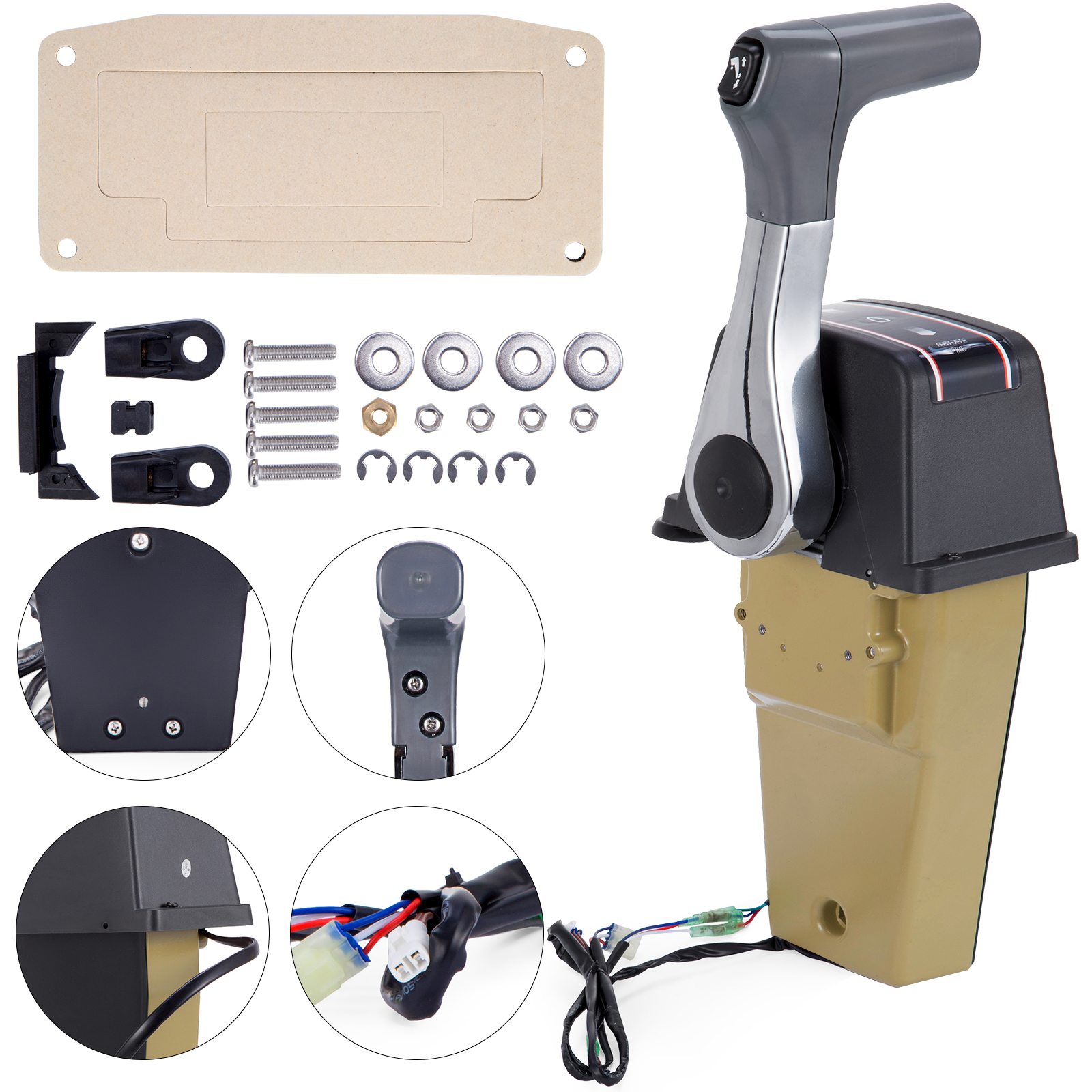 Outboard Remote Control Kit 67200-93J13 For Suzuki Motor Control Engine Console