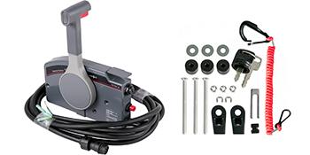 Schaltbox Schaltung Fernschaltung Einhebelschaltung für YAMAHA 703-48230 7 Pin