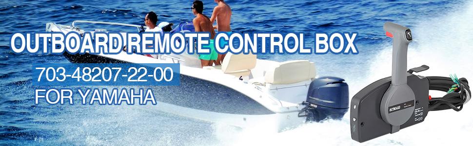 Yamaha New OEM Marine Motors Side Mount Control Box 10 Pin 703-48207-22-00
