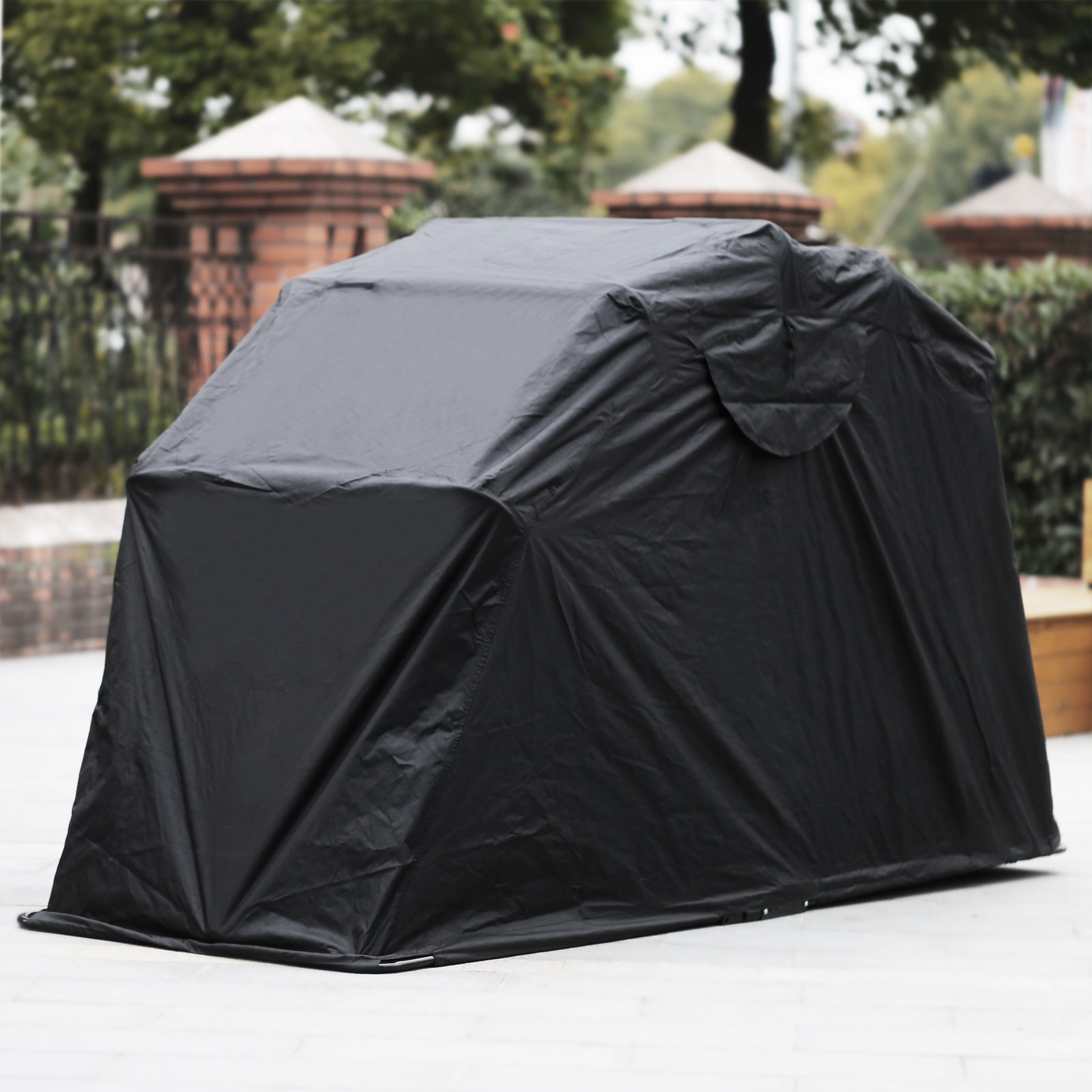 Heavy duty motorcycle shelter shed cover storage garage tent 241364348548 ebay - Motorcycle foldable garage tent cover ...