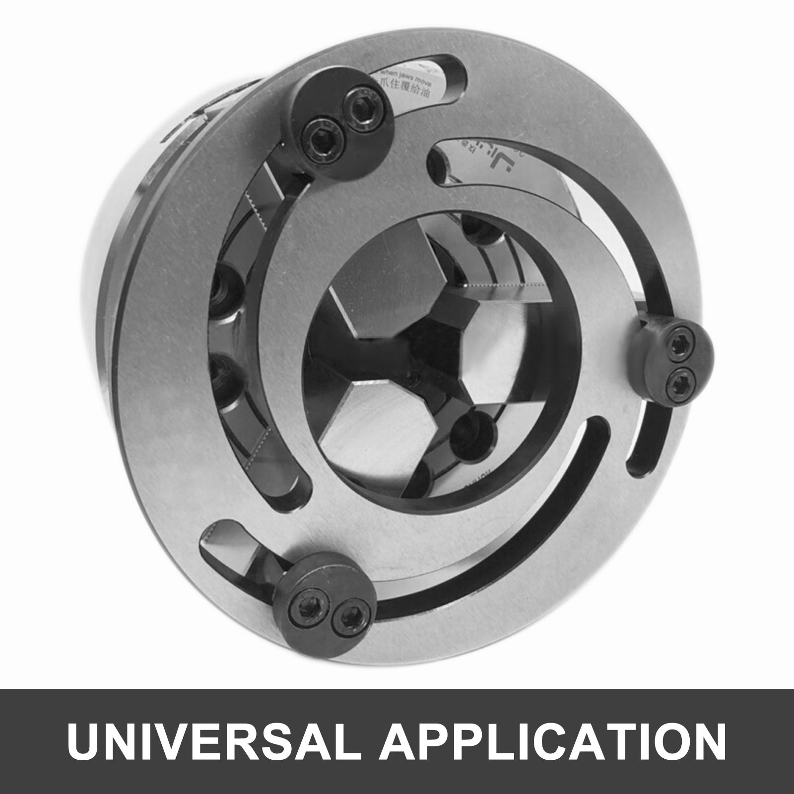 Jaw Boring Ring Chuck Hydraulic Pressure Claw US Ship CNC HighQuality Adjust