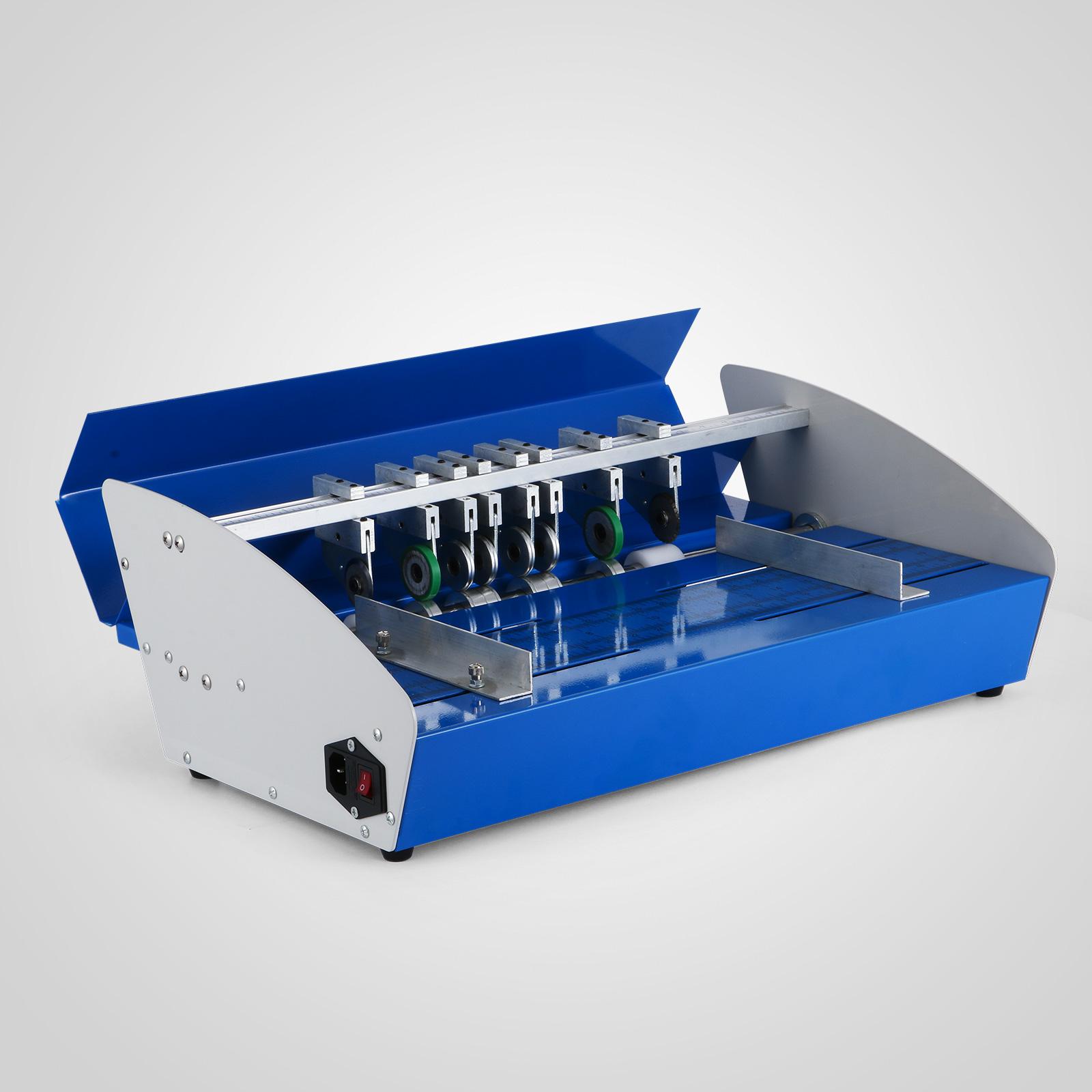 Cordonatrice-Perforatrice-Max-350-520mm-Profondita-Regolabile-Elettrica-Manuale miniatura 27