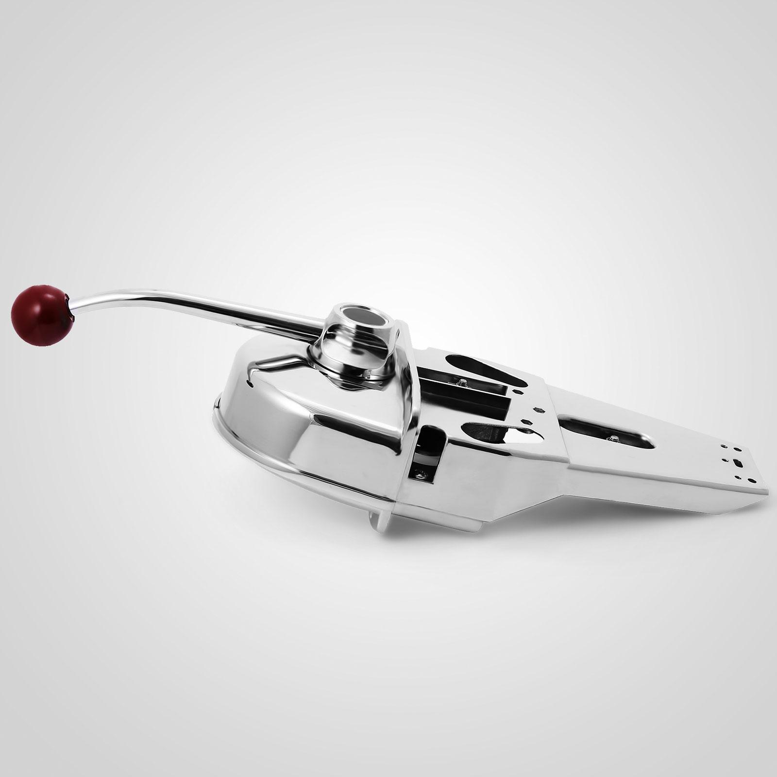 Single Lever Throttle Marine : Universal top mount marine boat single lever handle engine