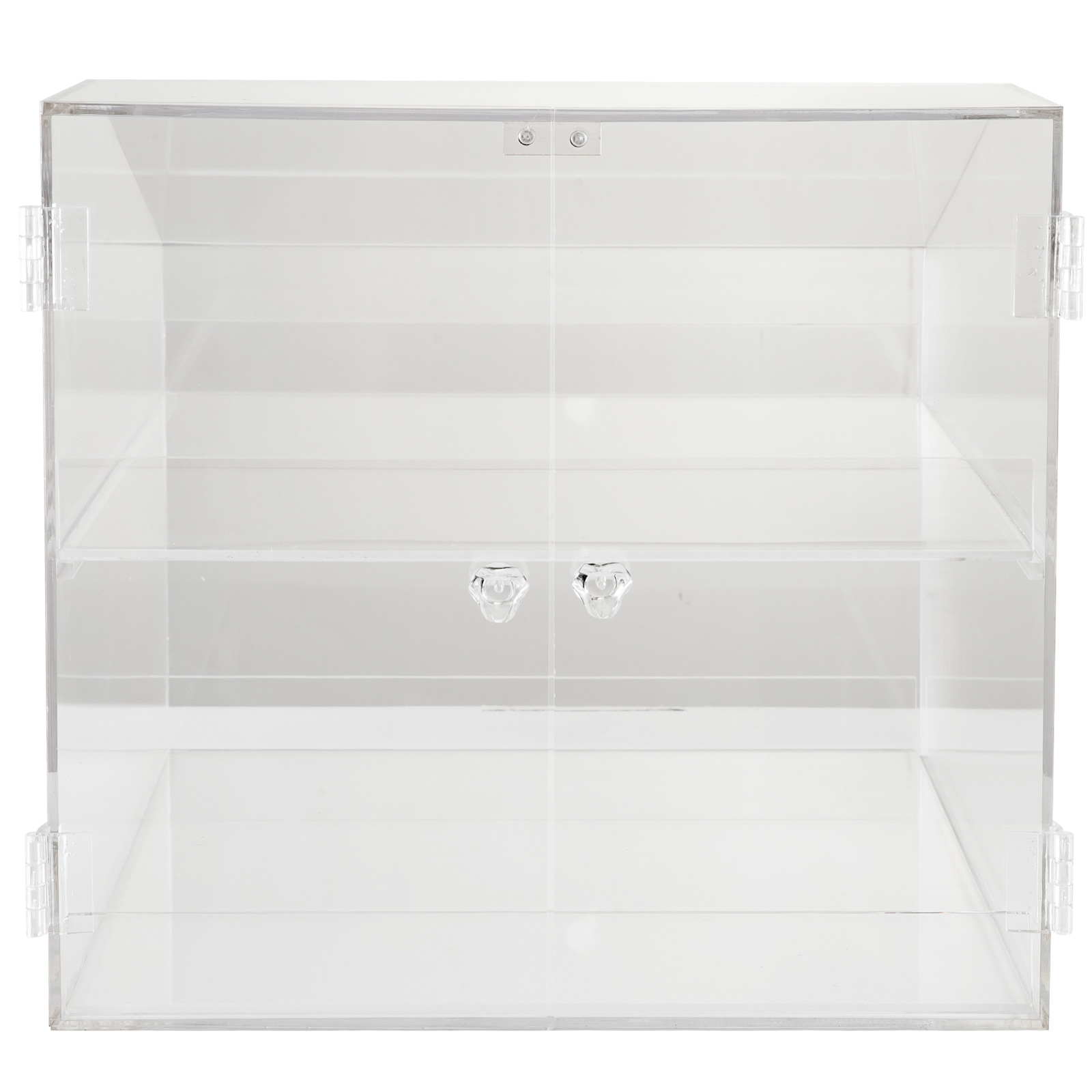 thumbnail 60 - 2-3-4-Shelves-Acrylic-Display-Cabinet-Glued-Unassembled-Bakery-Clear-Pastry