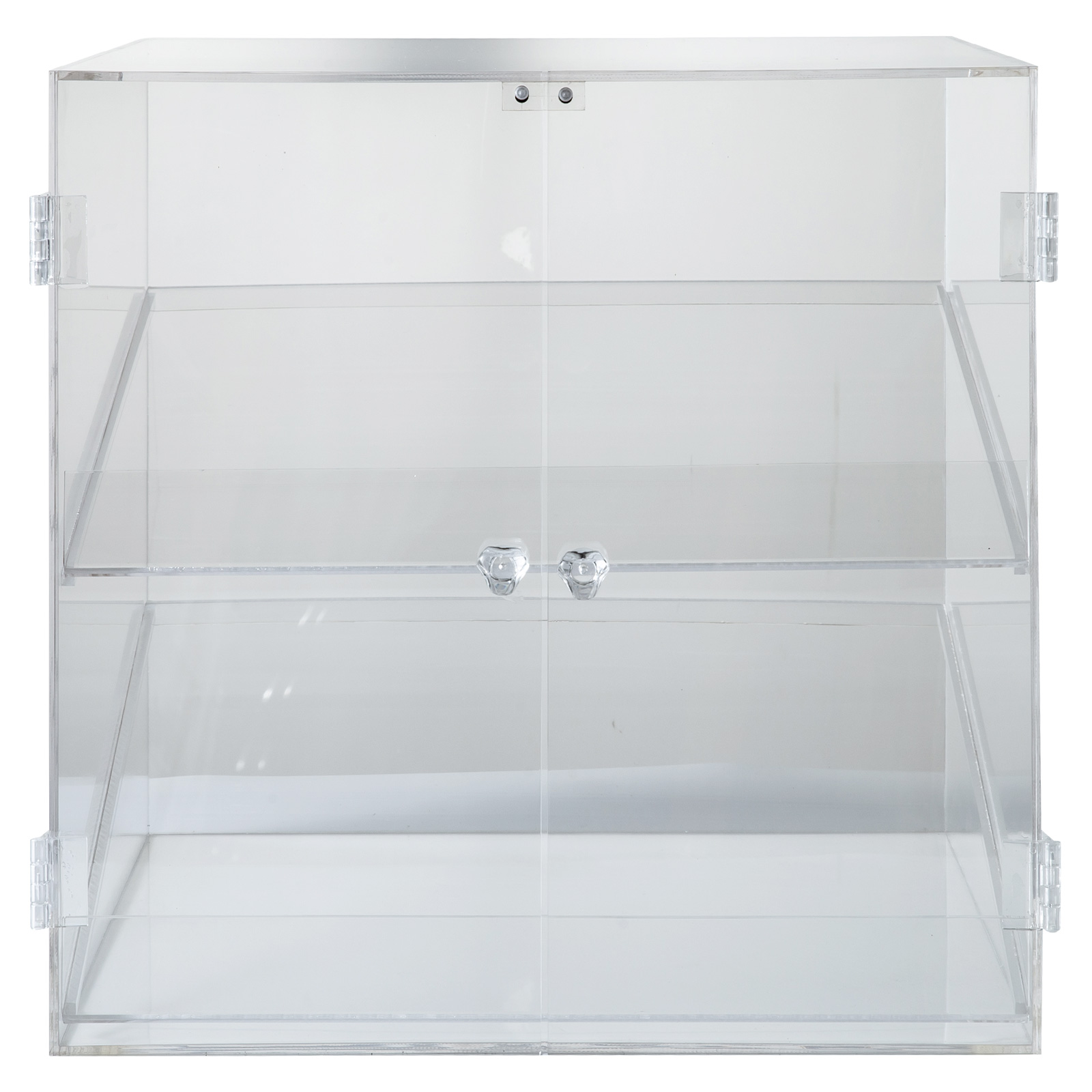 thumbnail 153 - 2-3-4-Shelves-Acrylic-Display-Cabinet-Glued-Unassembled-Bakery-Clear-Pastry