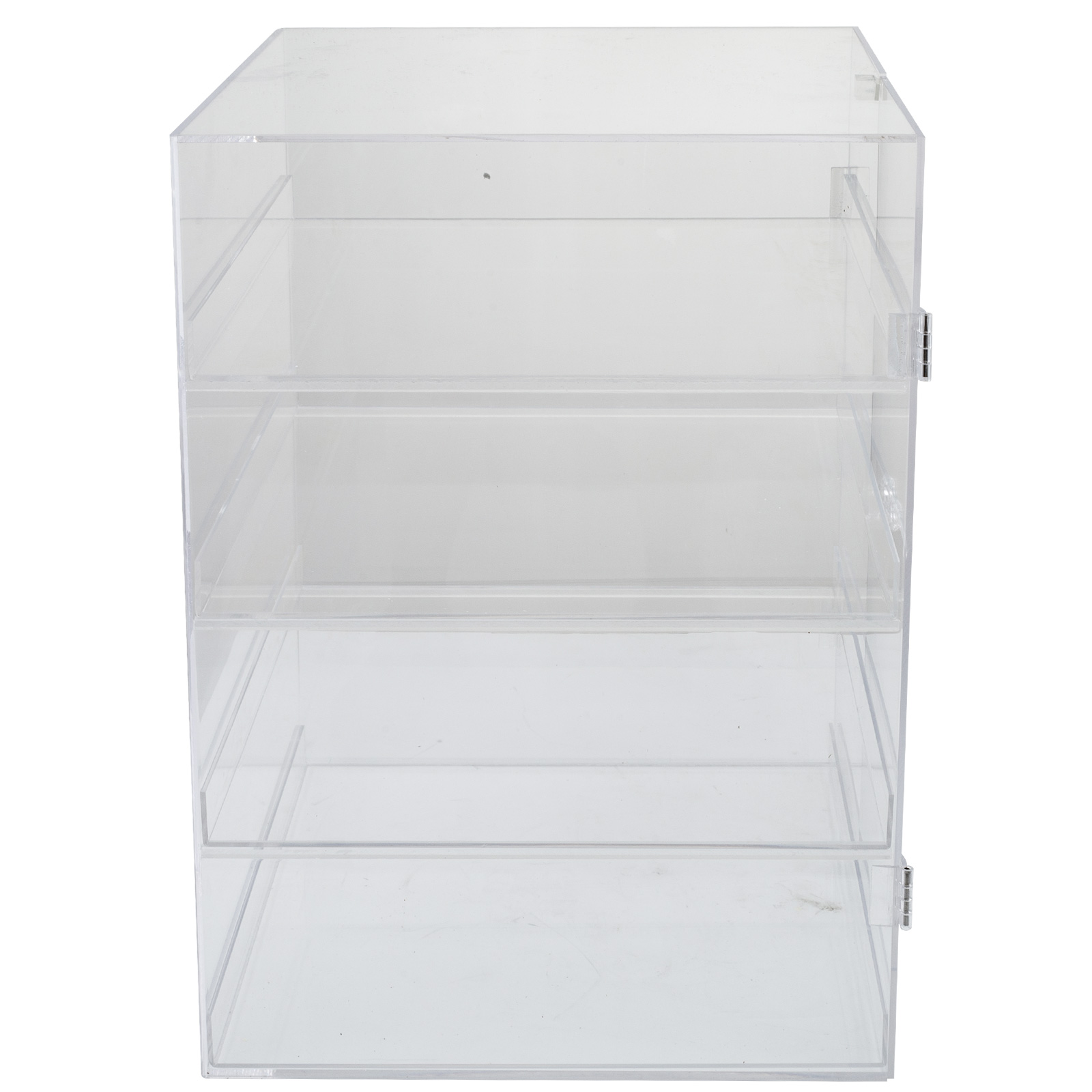 thumbnail 24 - 2-3-4-Shelves-Acrylic-Display-Cabinet-Glued-Unassembled-Bakery-Clear-Pastry