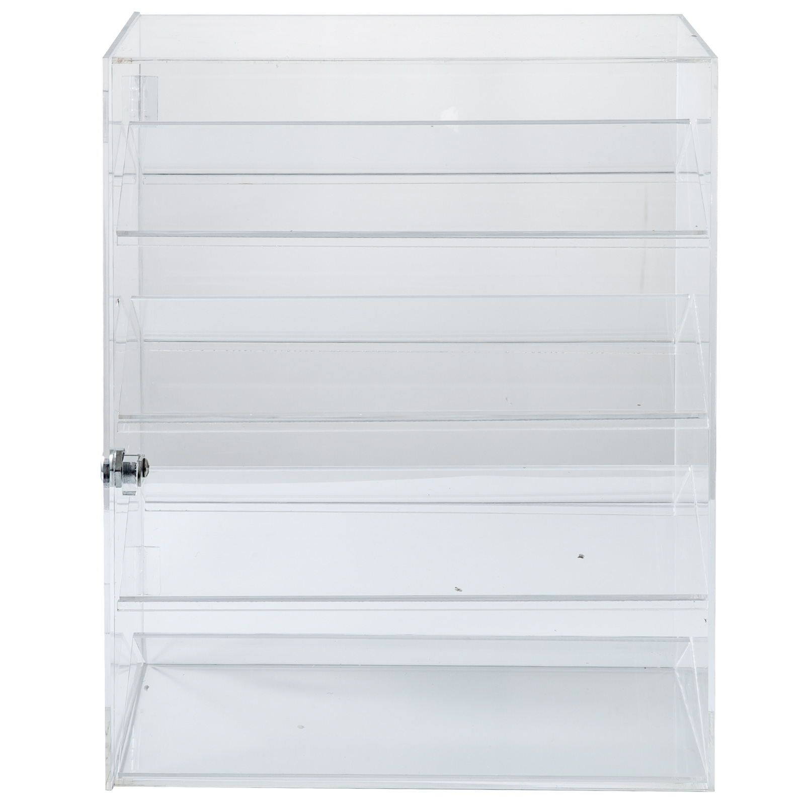 thumbnail 143 - 2-3-4-Shelves-Acrylic-Display-Cabinet-Glued-Unassembled-Bakery-Clear-Pastry