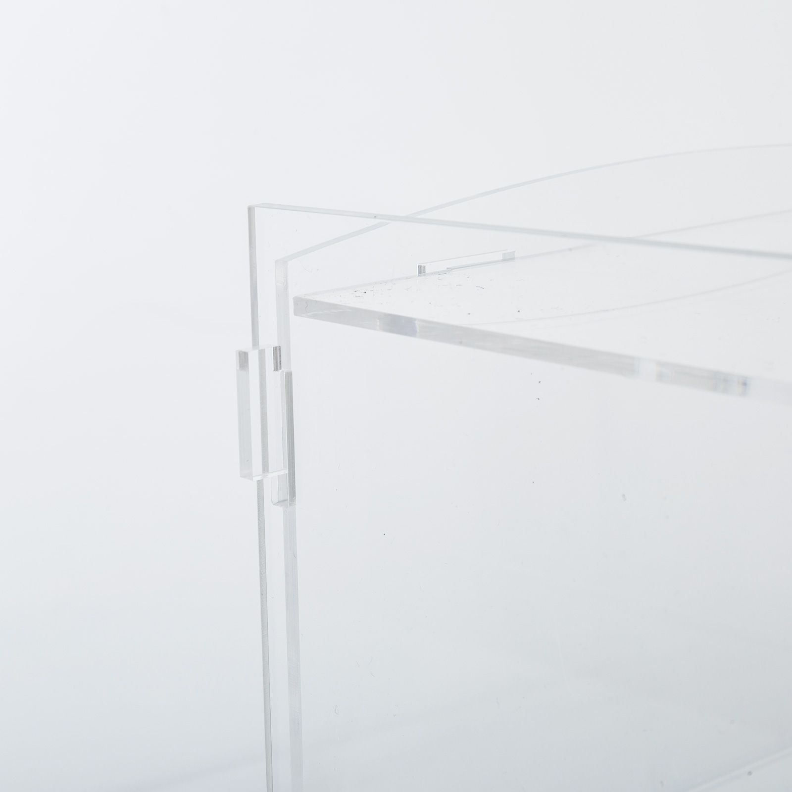 thumbnail 108 - 2-3-4-Shelves-Acrylic-Display-Cabinet-Glued-Unassembled-Bakery-Clear-Pastry