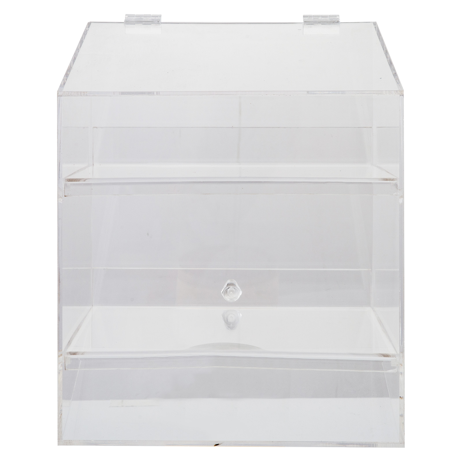 thumbnail 70 - 2-3-4-Shelves-Acrylic-Display-Cabinet-Glued-Unassembled-Bakery-Clear-Pastry