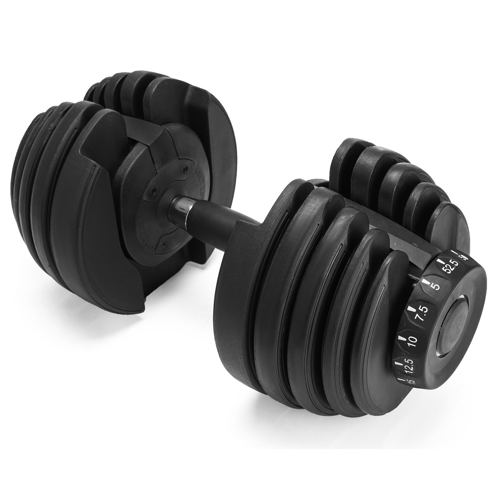 Fitness Adjustable Dumbbell 1090 Single Adjustable