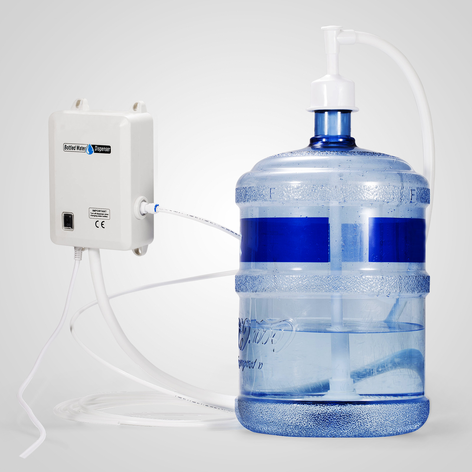 Electric Portable 1 Gallon Water Pump Dispenser W Switch