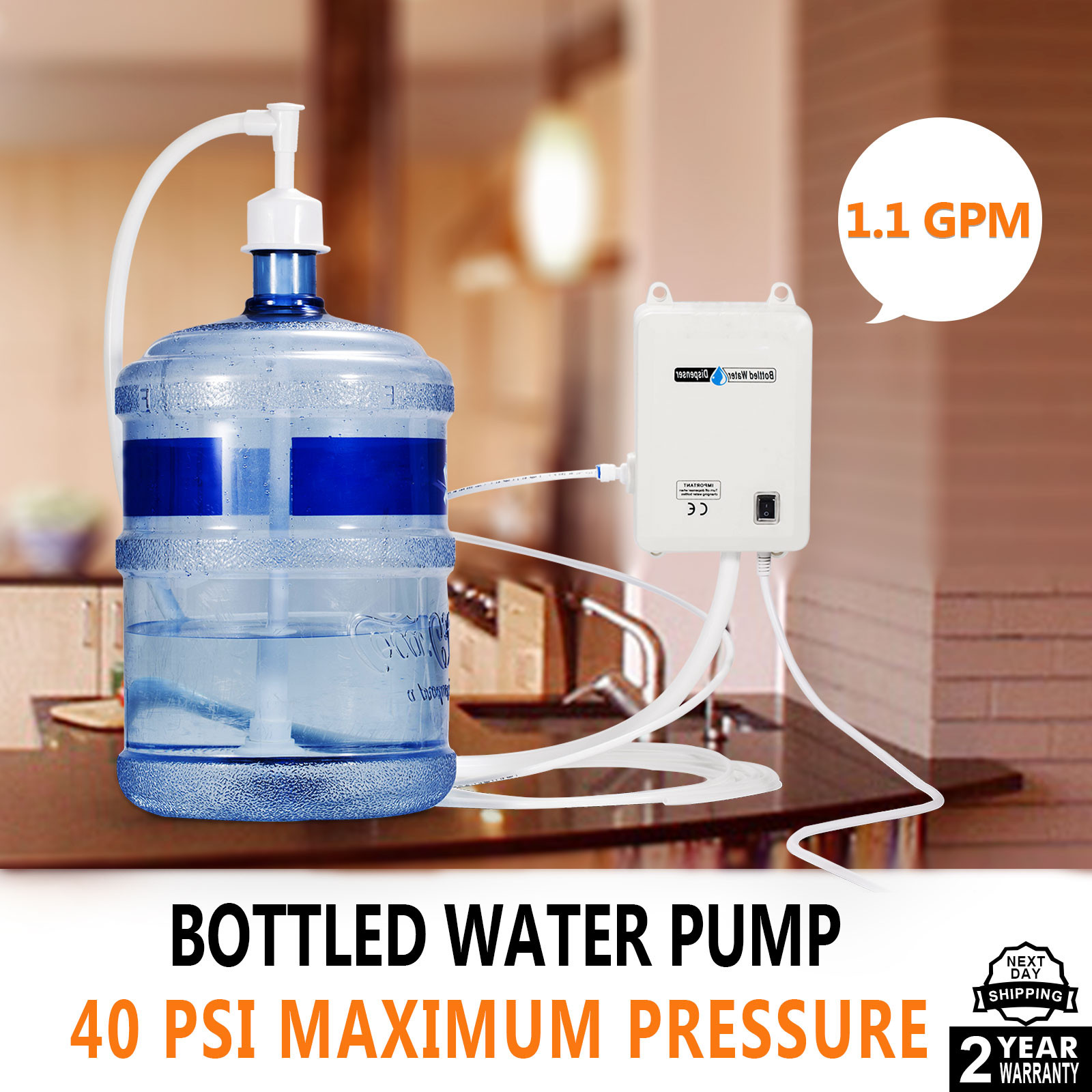 115 127v Ac Bottled Water Dispensing Pump System Replaces