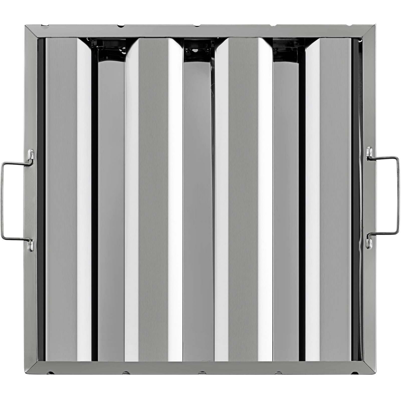 Commercial Kitchen Exhaust Hood Filters: 6 PACK Commercial Kitchen Stainless Steel Exhaust Hood