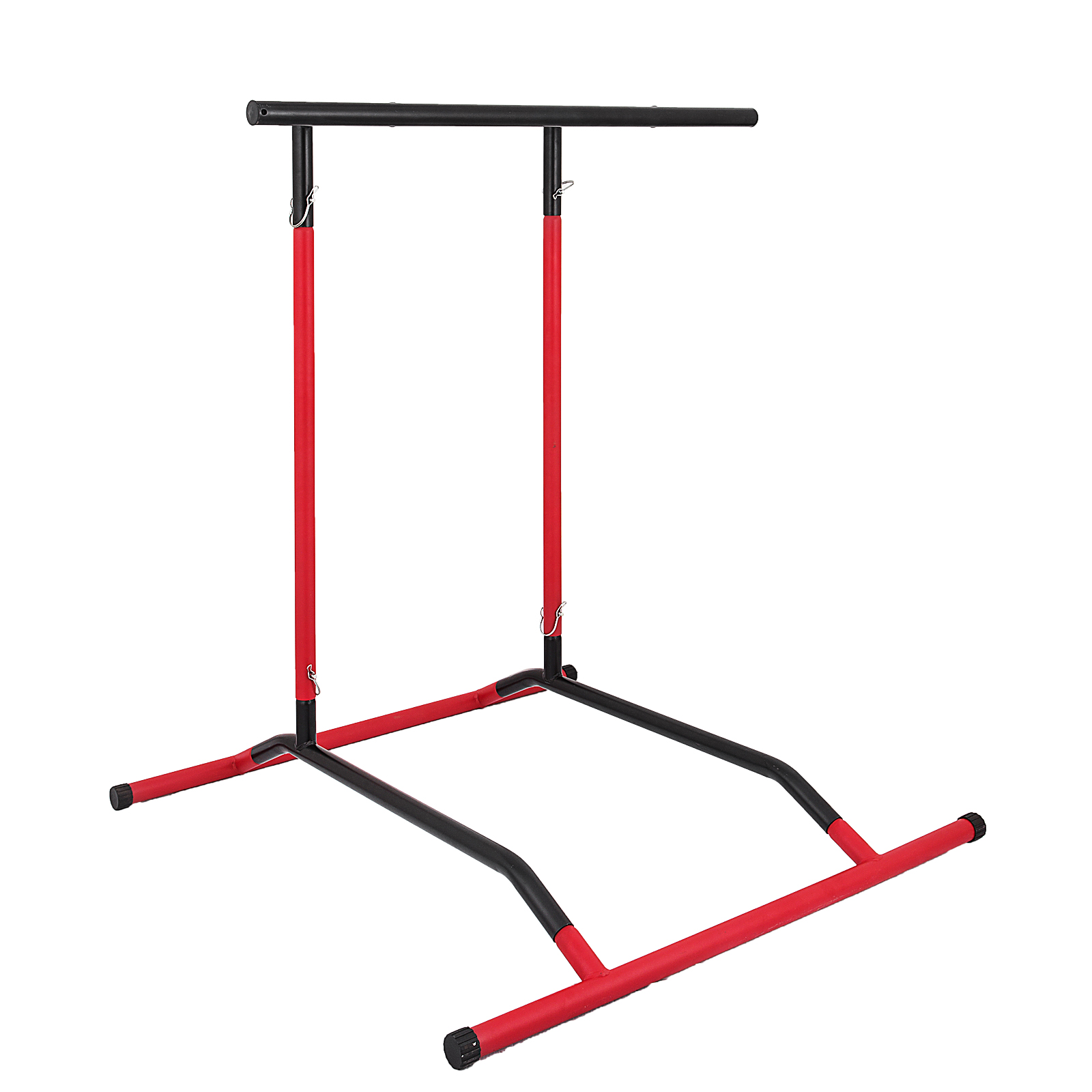 Portable-Power-Tower-for-Home-Gym-Workout-With-Dip-Station-And-Chin-Pull-Up-Bar thumbnail 15