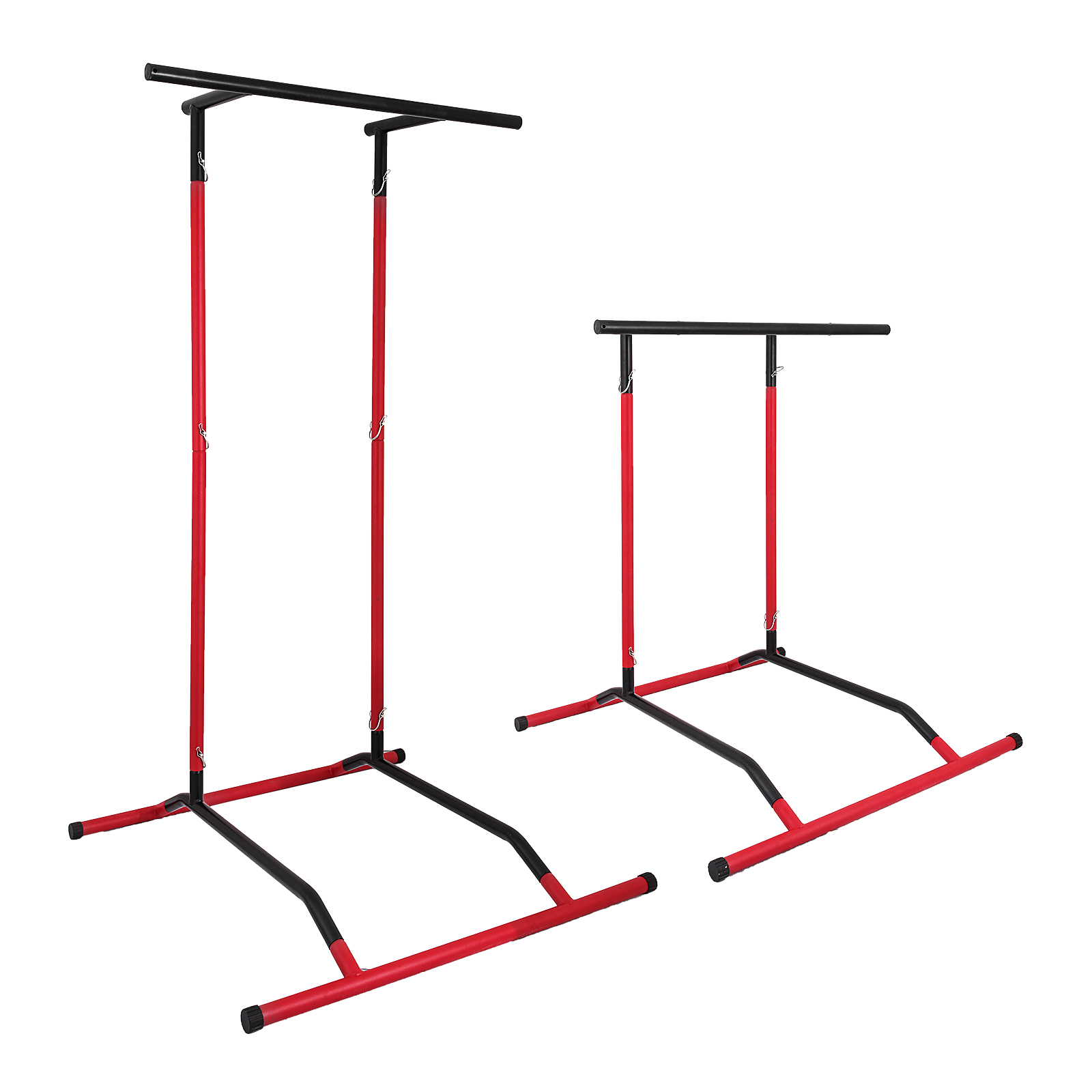 Portable-Power-Tower-for-Home-Gym-Workout-With-Dip-Station-And-Chin-Pull-Up-Bar thumbnail 36