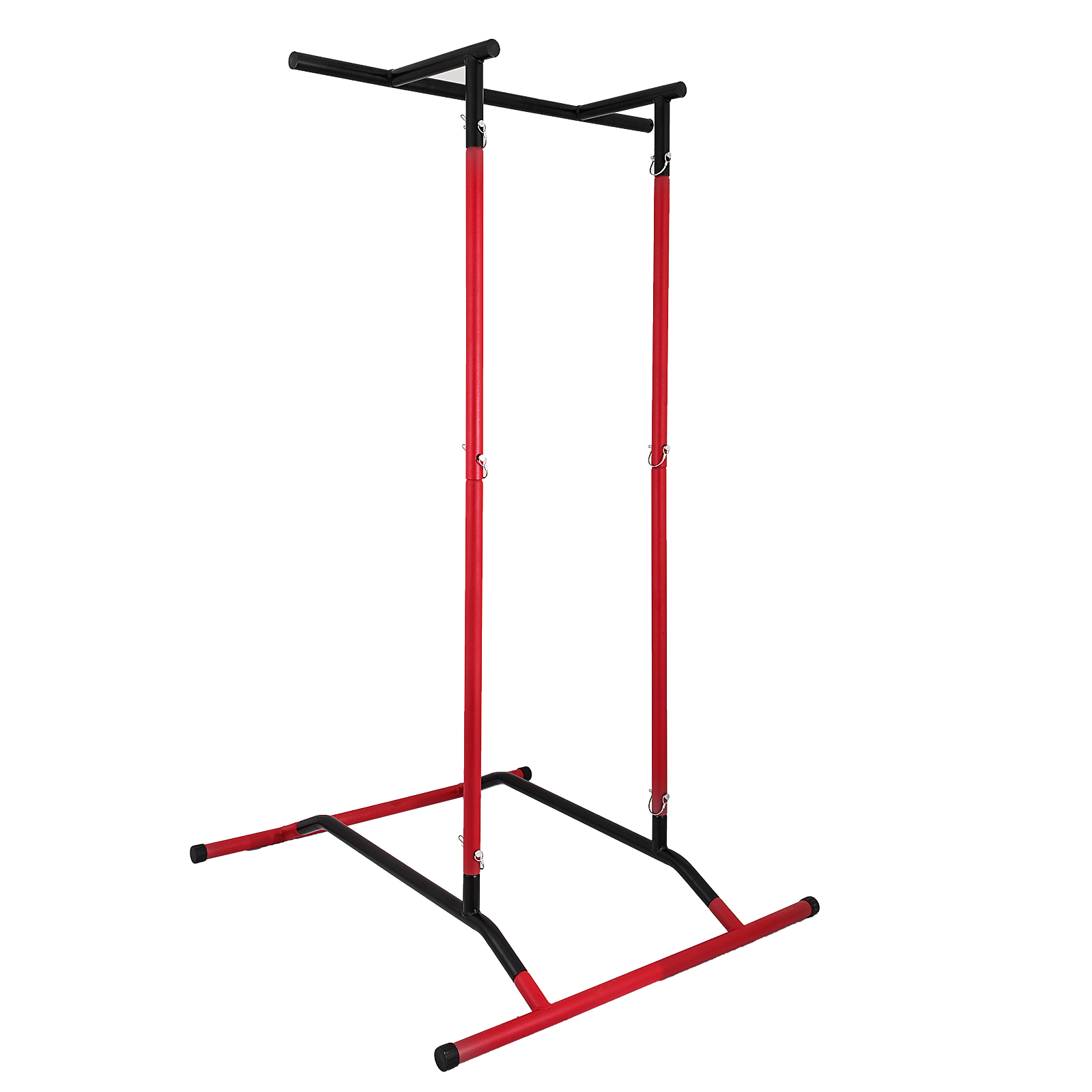 Portable-Power-Tower-for-Home-Gym-Workout-With-Dip-Station-And-Chin-Pull-Up-Bar thumbnail 29