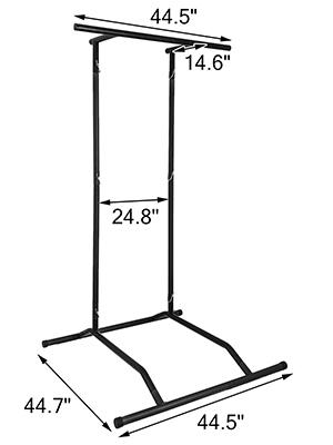 Klimmzug Klimmzugstange Pull Up Rack Bar Stand Kraftstation Trainingsbar
