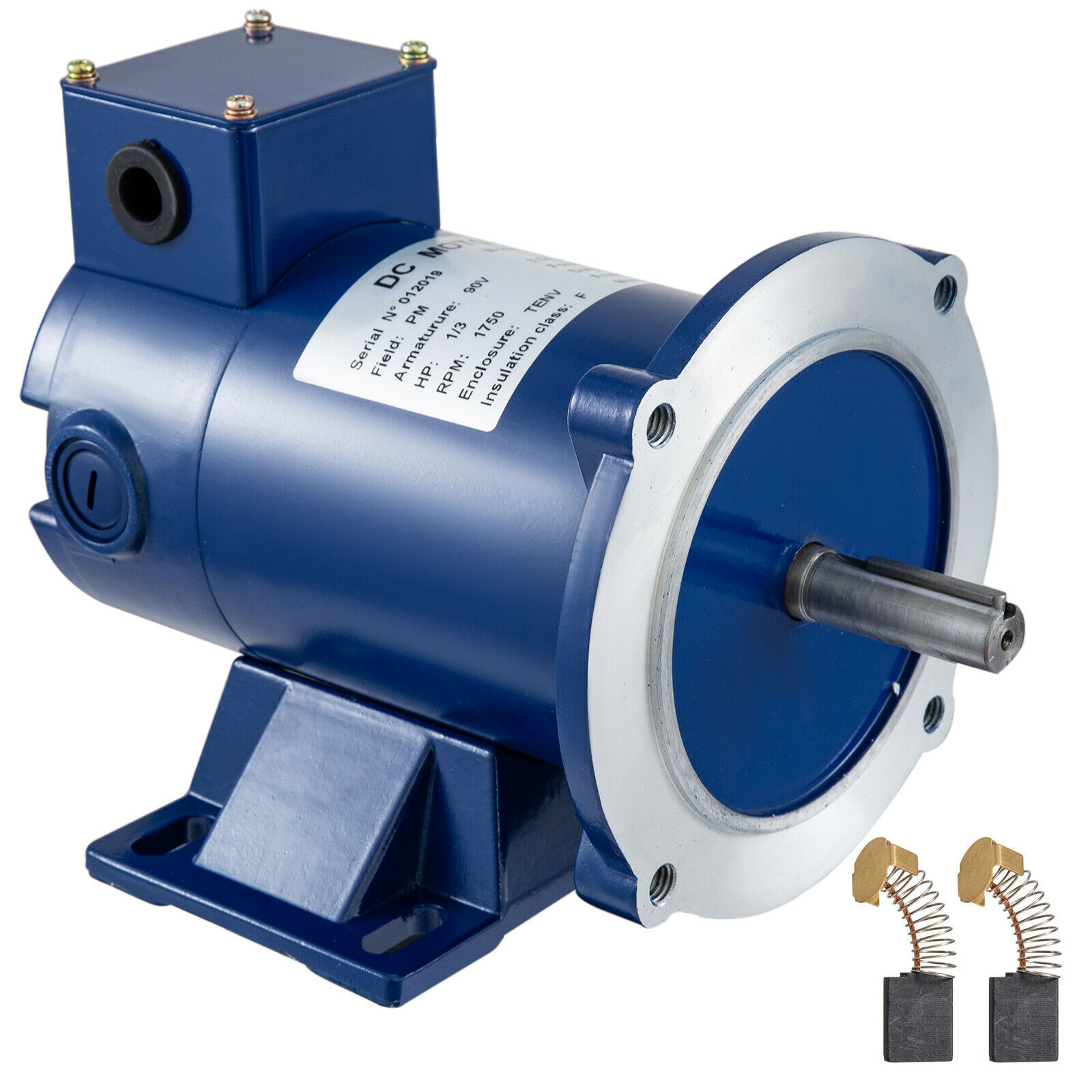 DC MOTOR 1.0HP 56C Frame 90V//1750RPM TEFC MAGNET Continuous Permanent Dynamic