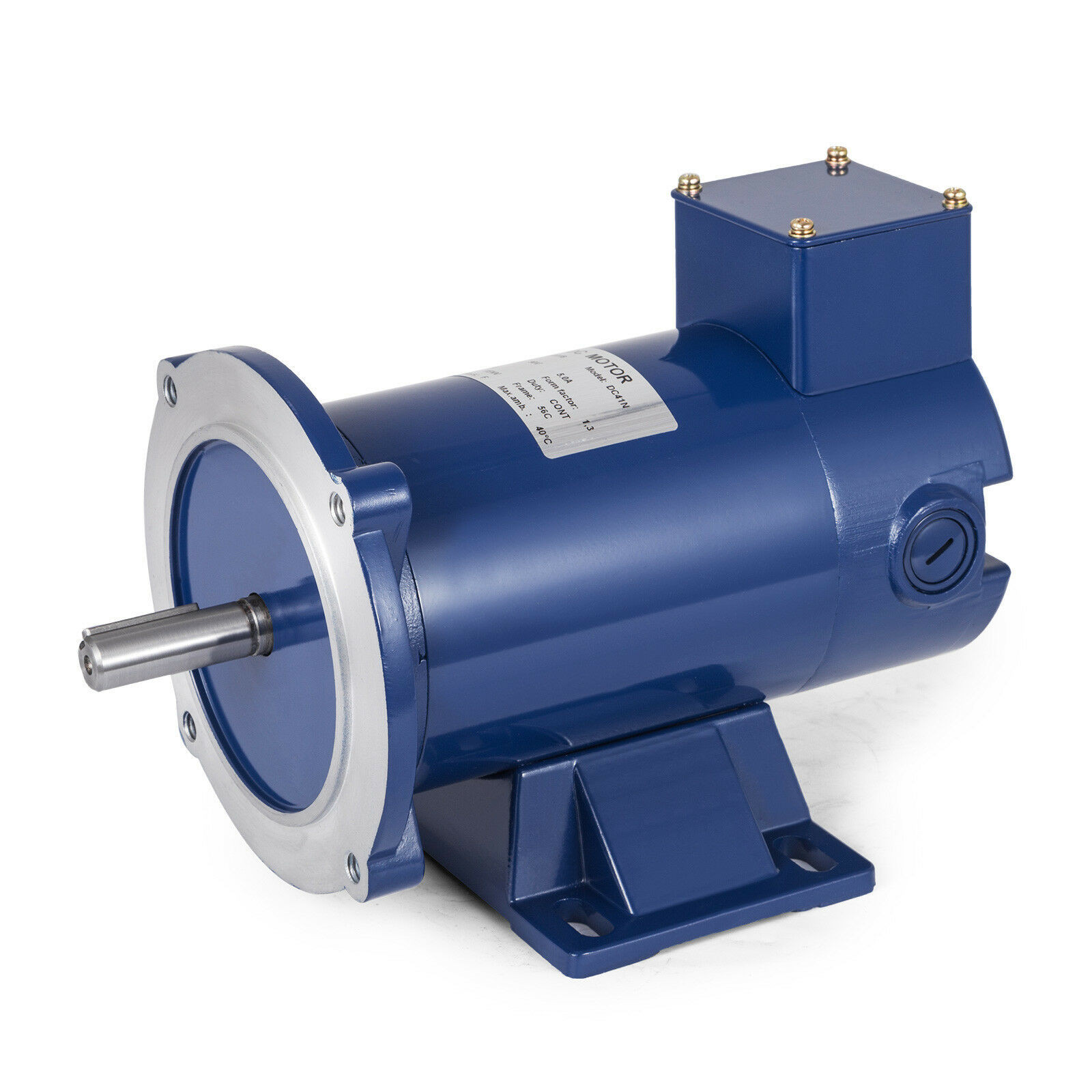 DC MOTOR 1//2HP 56C Frame 90V//1750RPM TEFC MAGNET 5.0A Grease Continuous GREAT